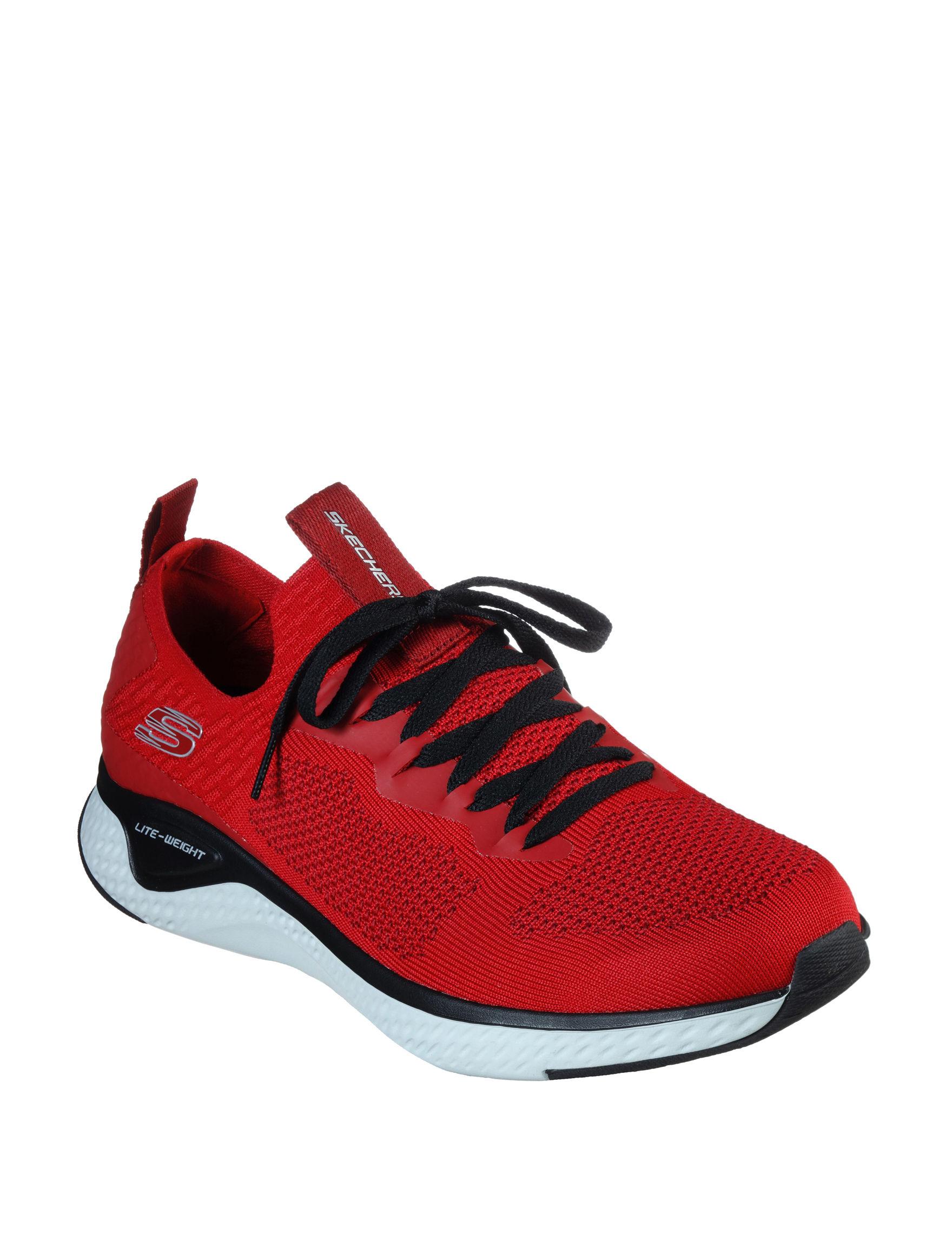 Skechers Red / Black