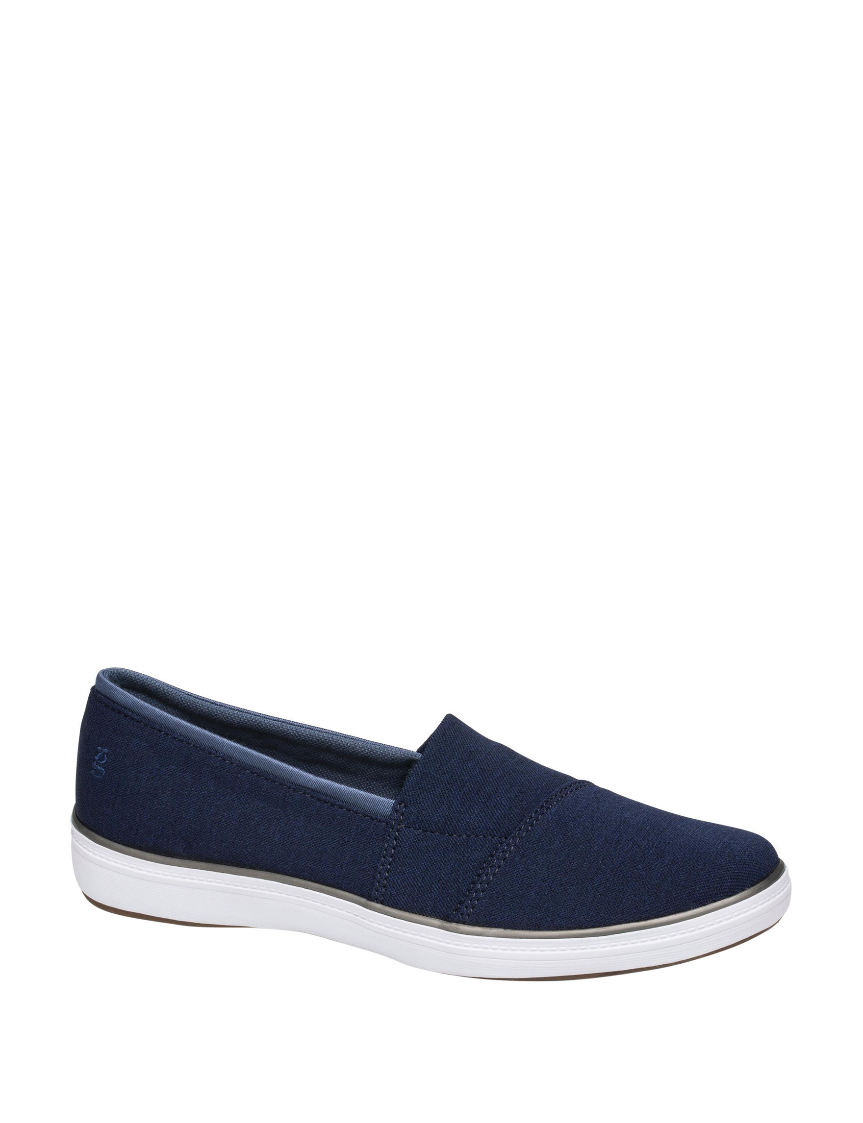 Grasshoppers Navy Comfort Shoes
