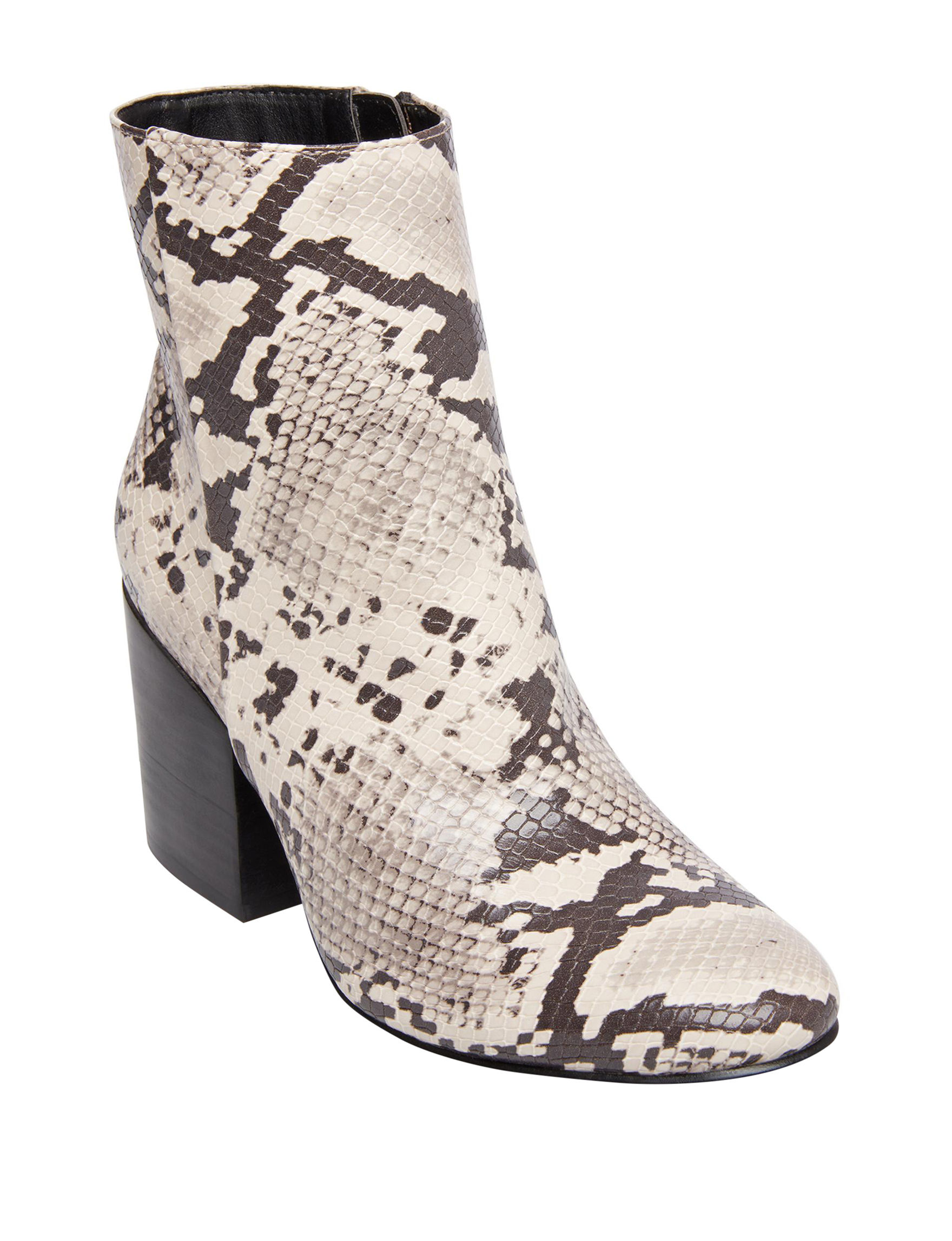 Madden Girl Snake Ankle Boots & Booties