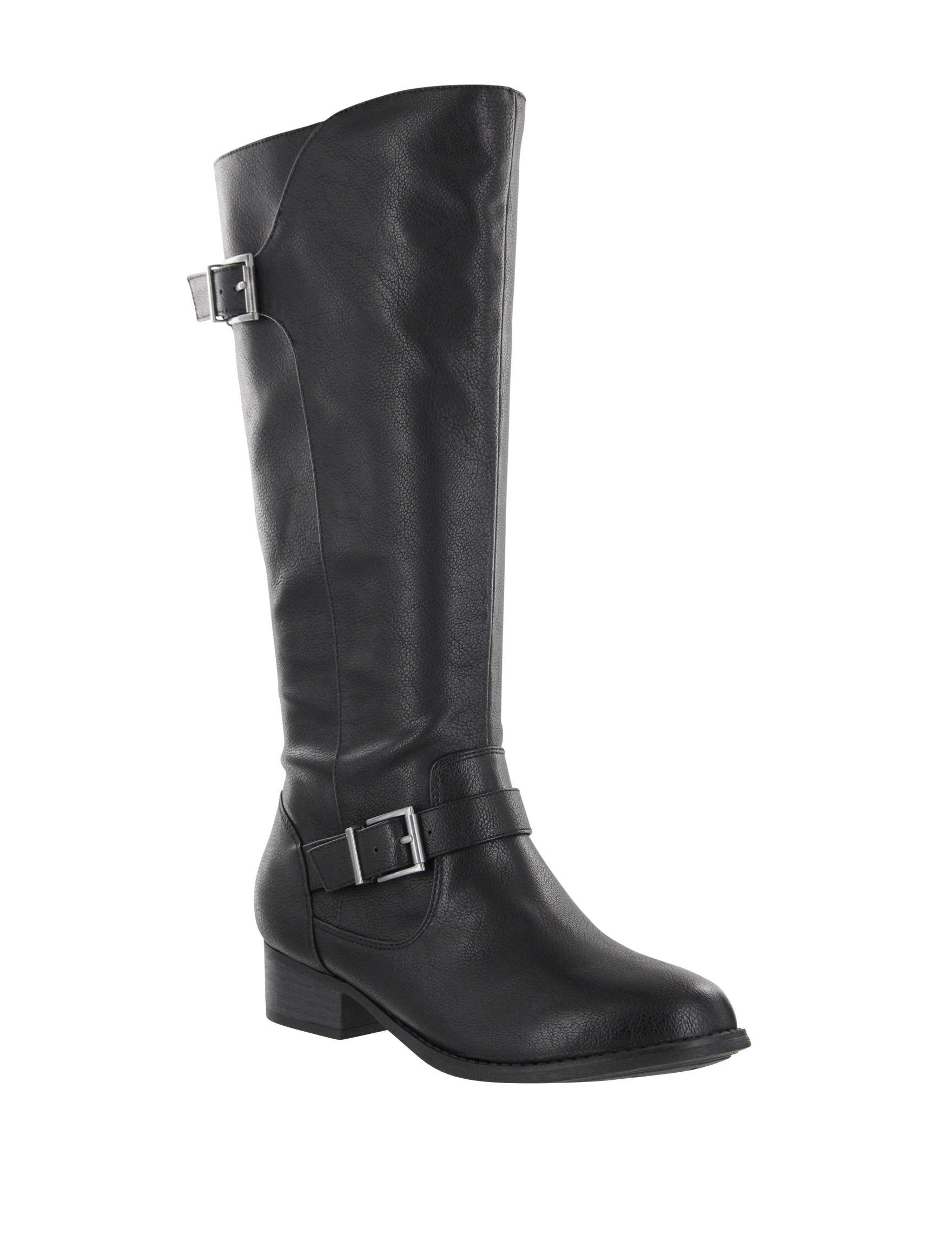 MIA Black Riding Boots