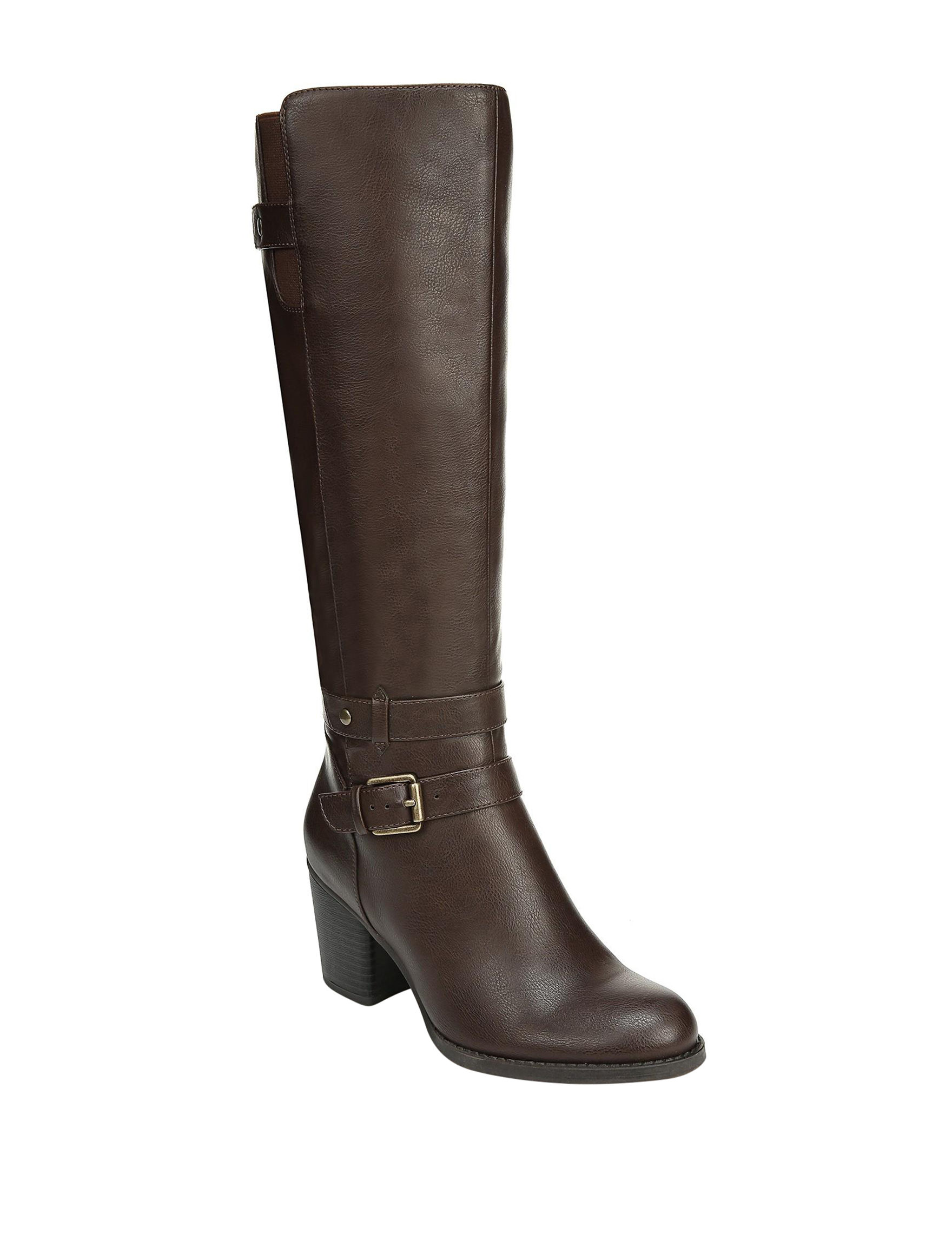 Natural Soul Brown Riding Boots