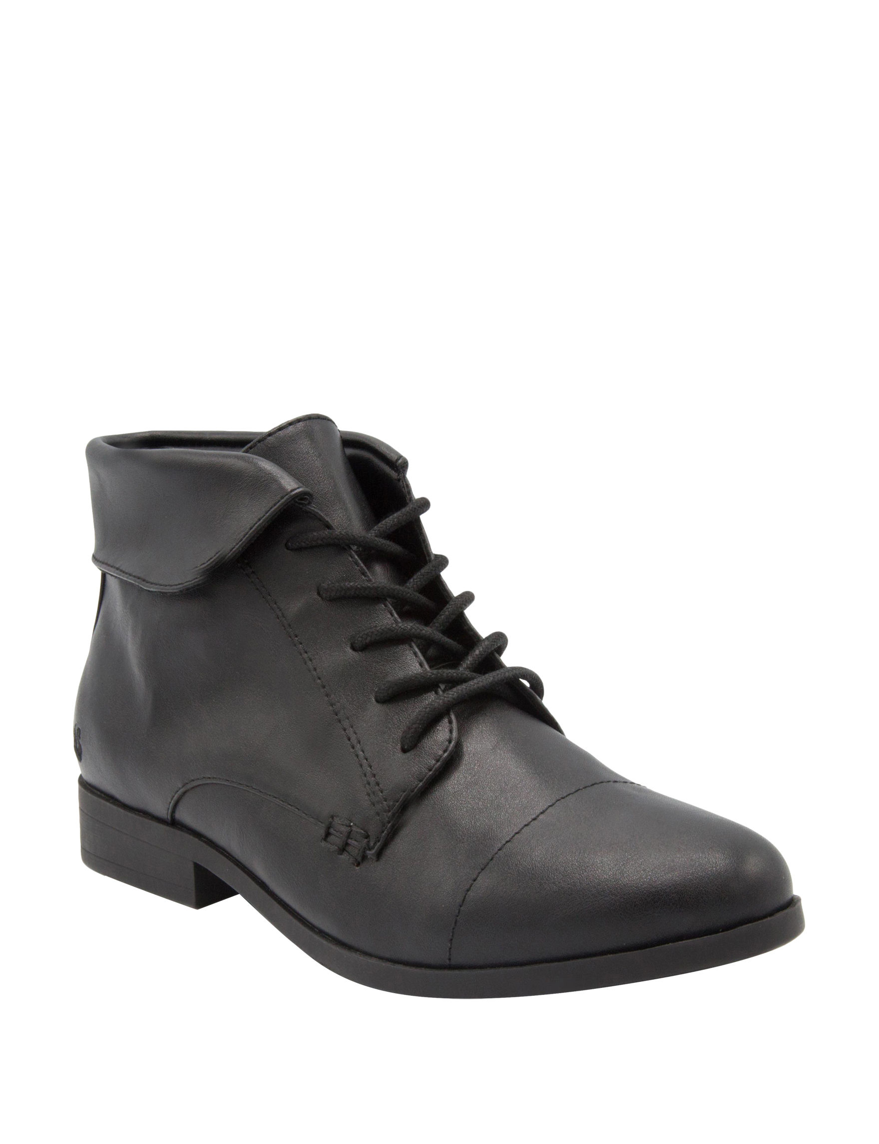 Gloria Vanderbilt Black Ankle Boots & Booties