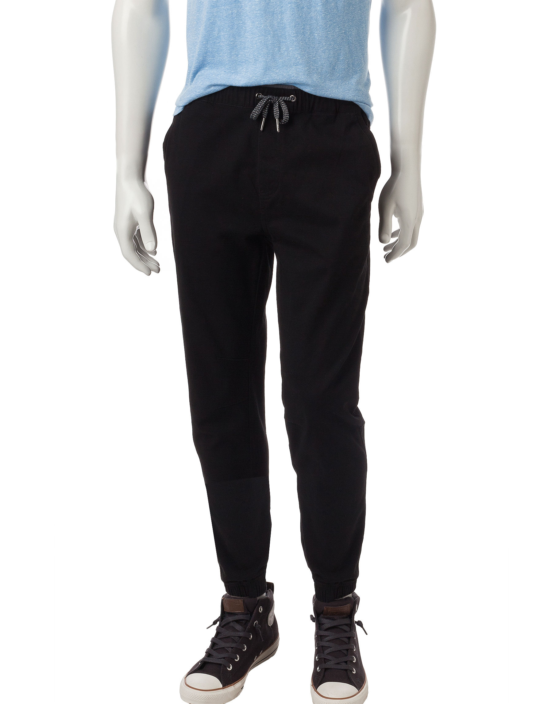 Rustic Blue Black Jogger Relaxed