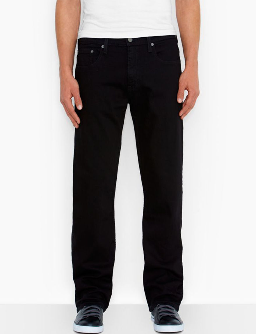 Levi's Black Loose Straight