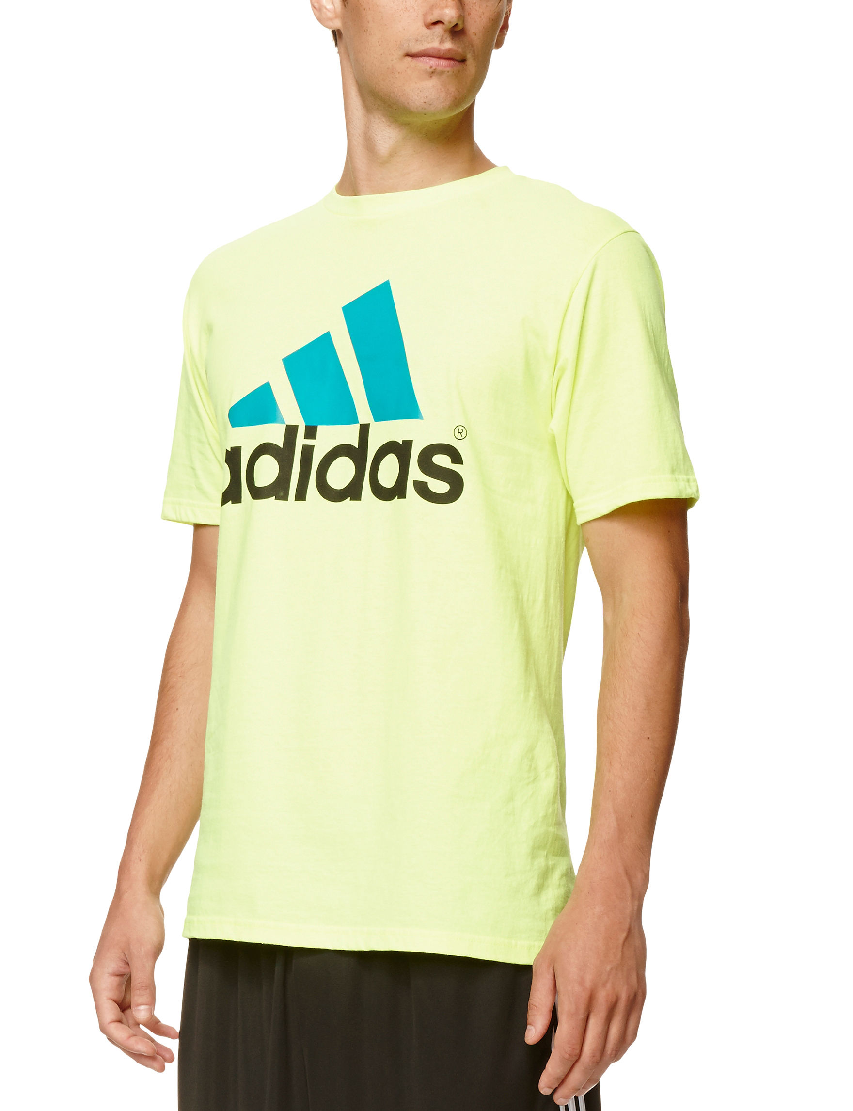 Adidas Yellow Tees & Tanks