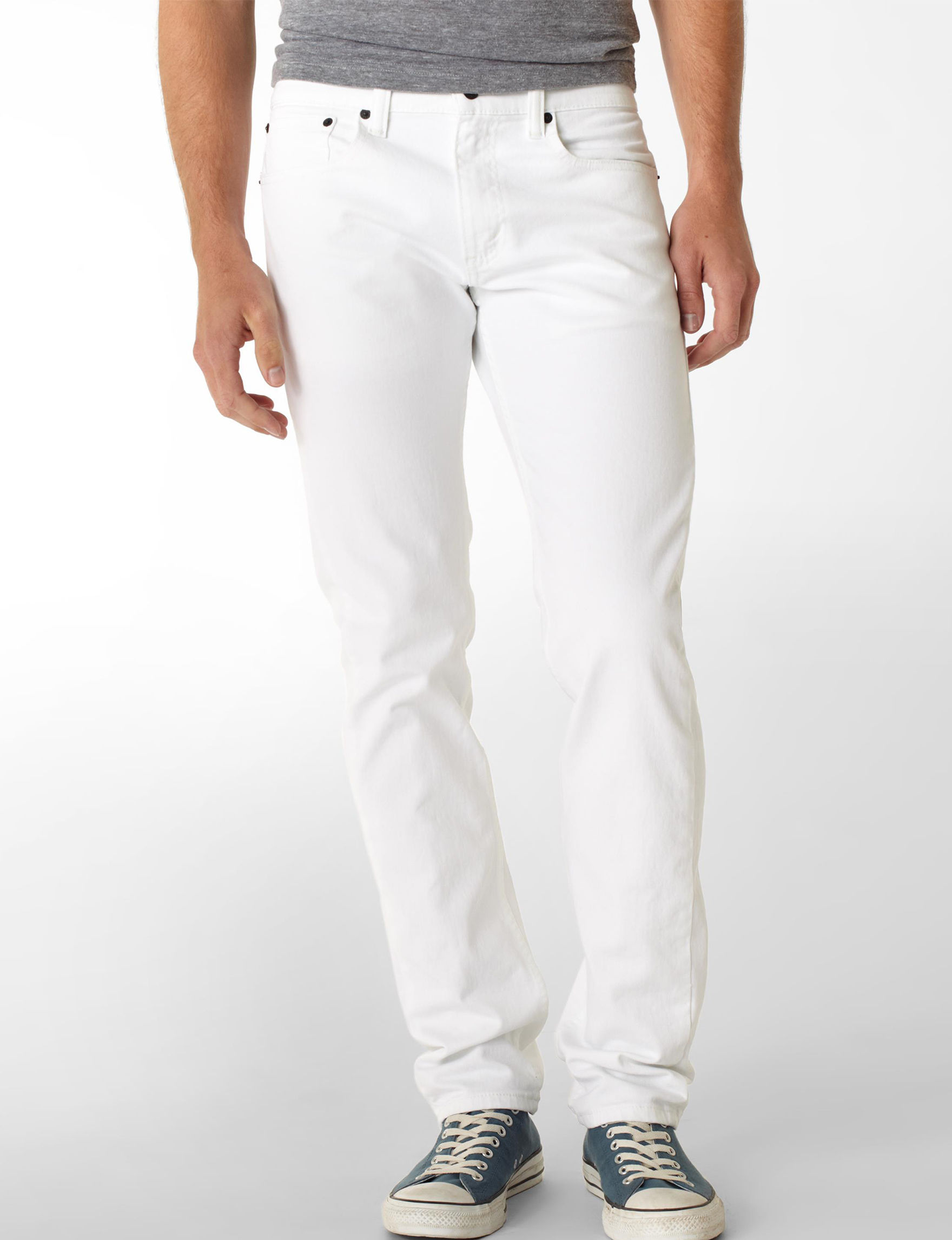 dbbafe82237 ... UPC 039307085175 product image for Levi's White Bull Denim Jeans -  Young Men's - White -