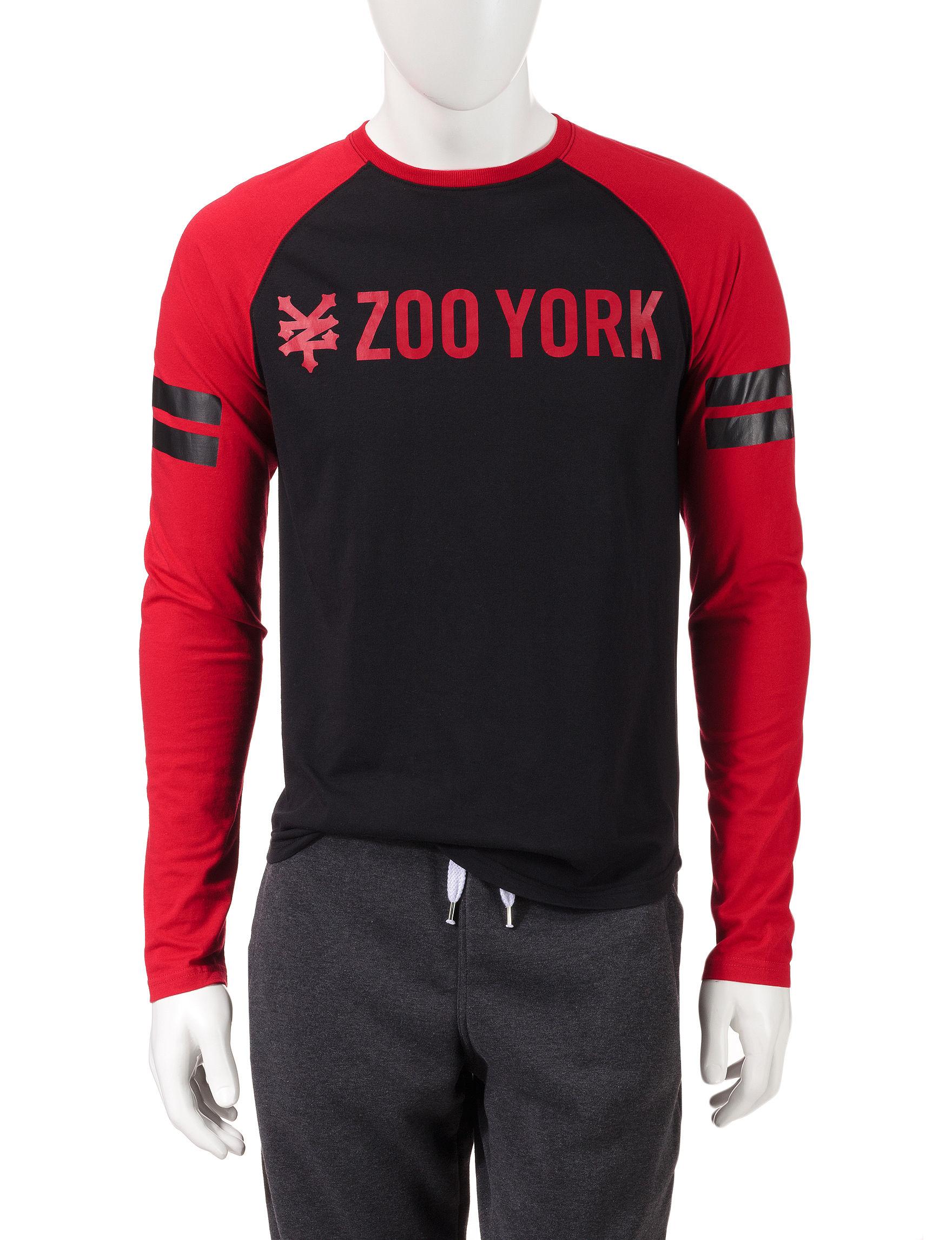 Zoo York True Red Tees & Tanks