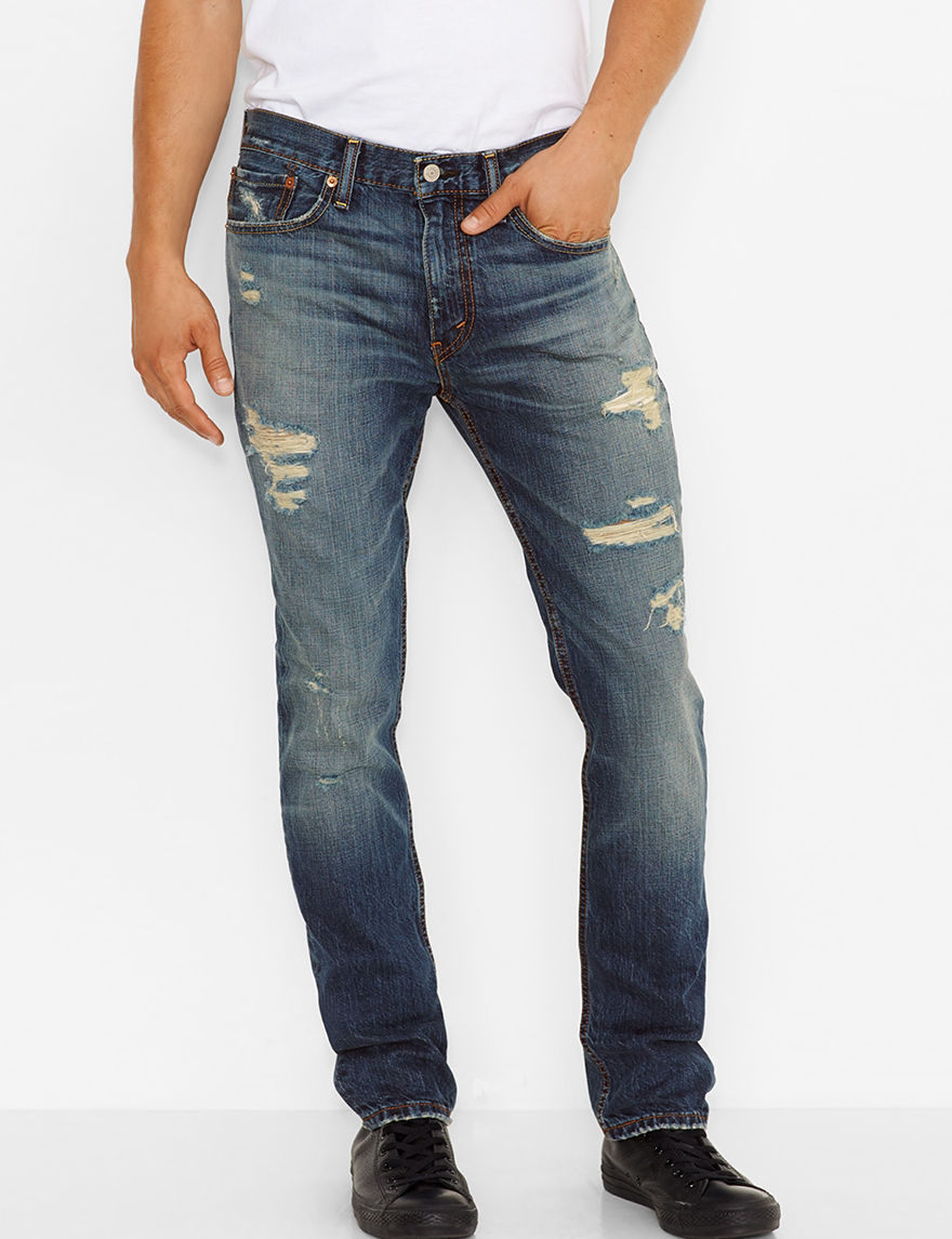 Levi's Dest Blue Barnacle Slim