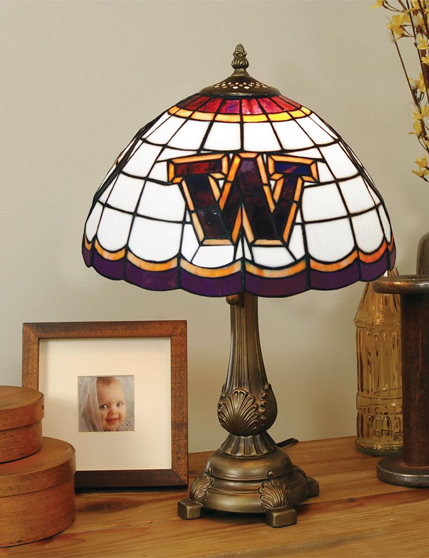 NCAA Purple Table Lamps