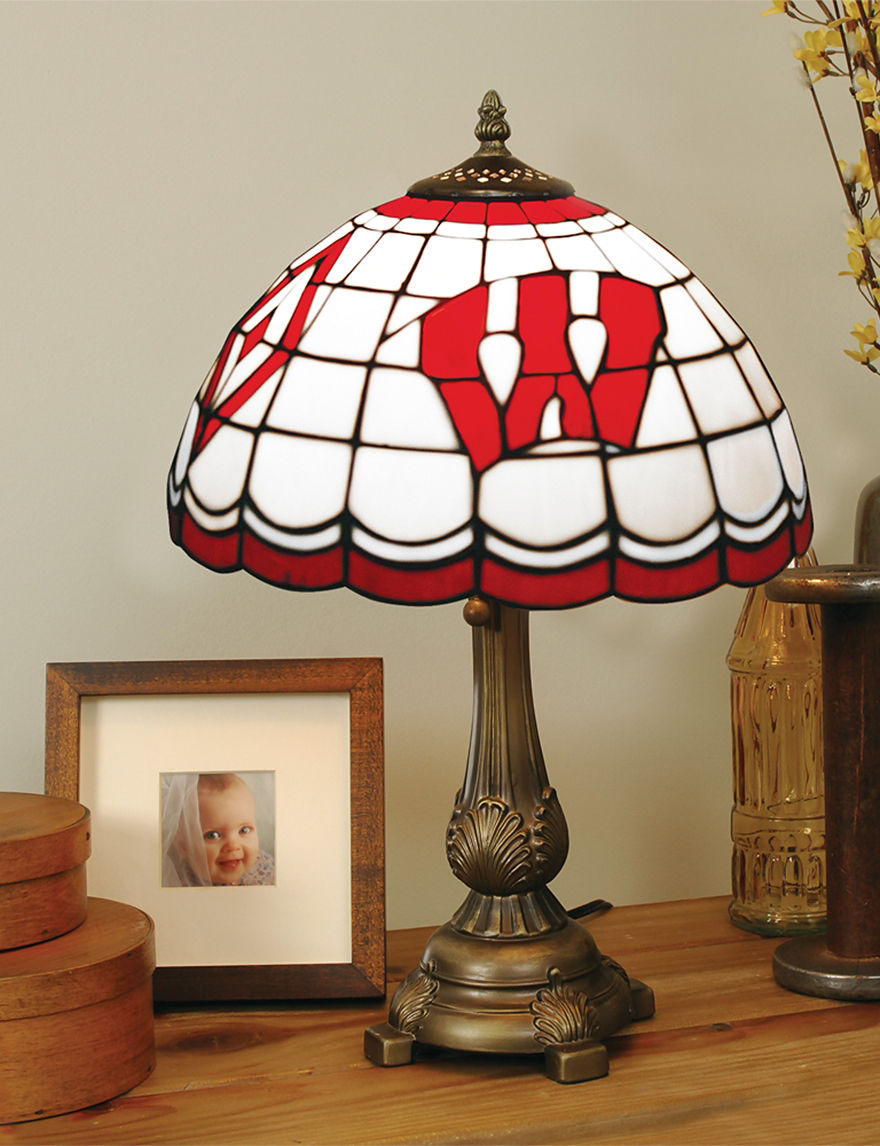 NCAA Red Table Lamps