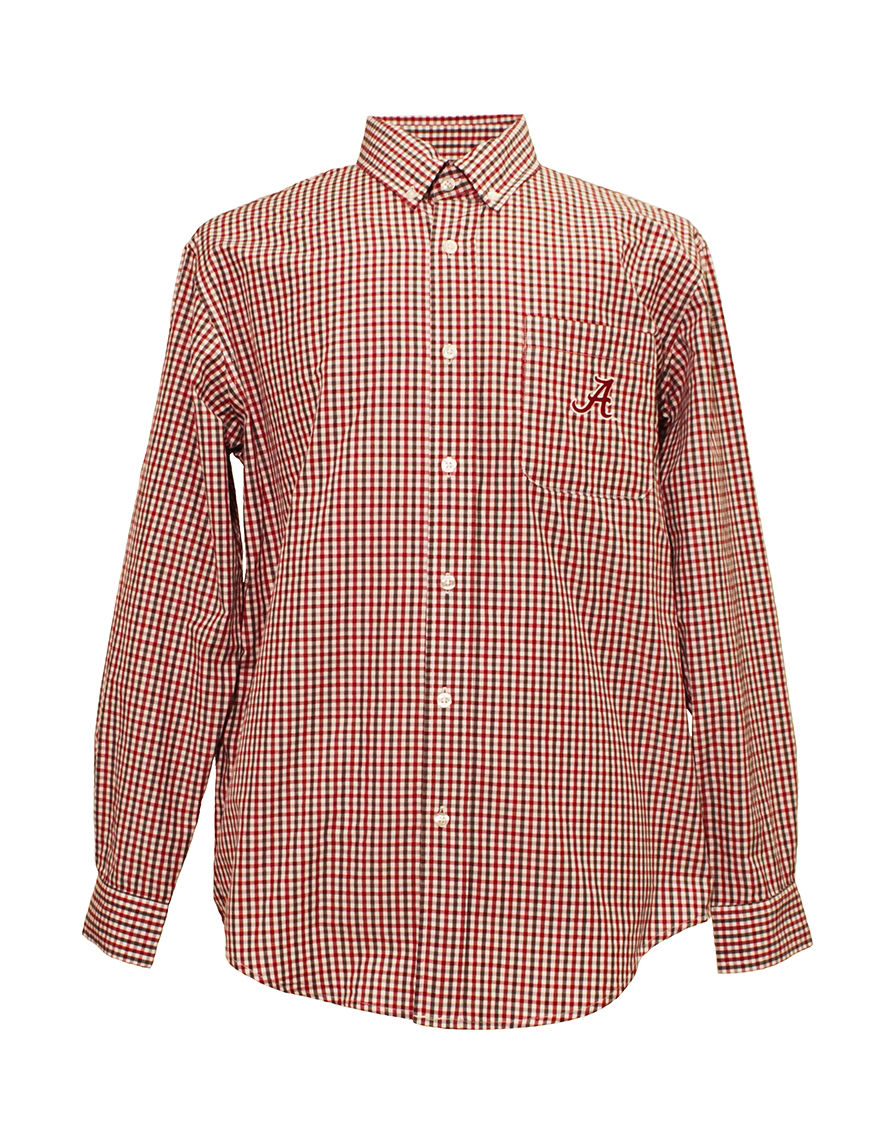 NCAA Cardinal Casual Button Down Shirts