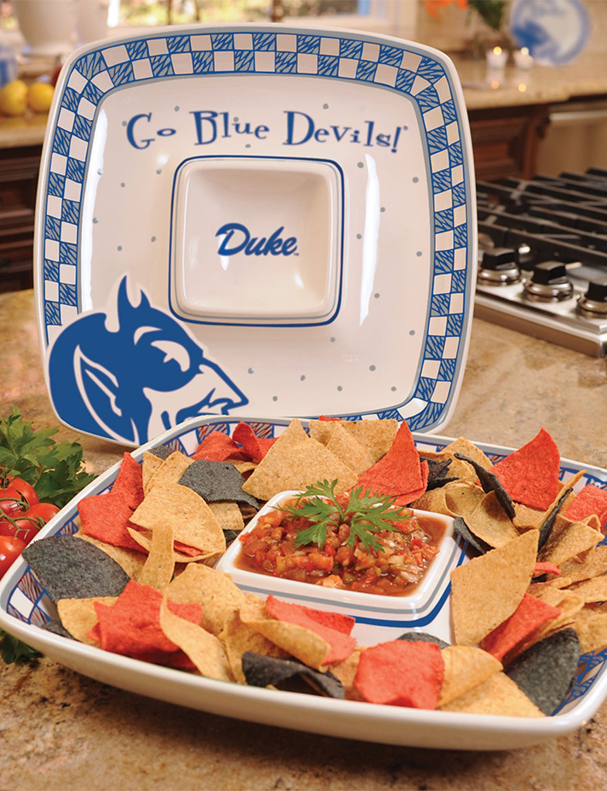 NCAA White Serving Platters & Trays