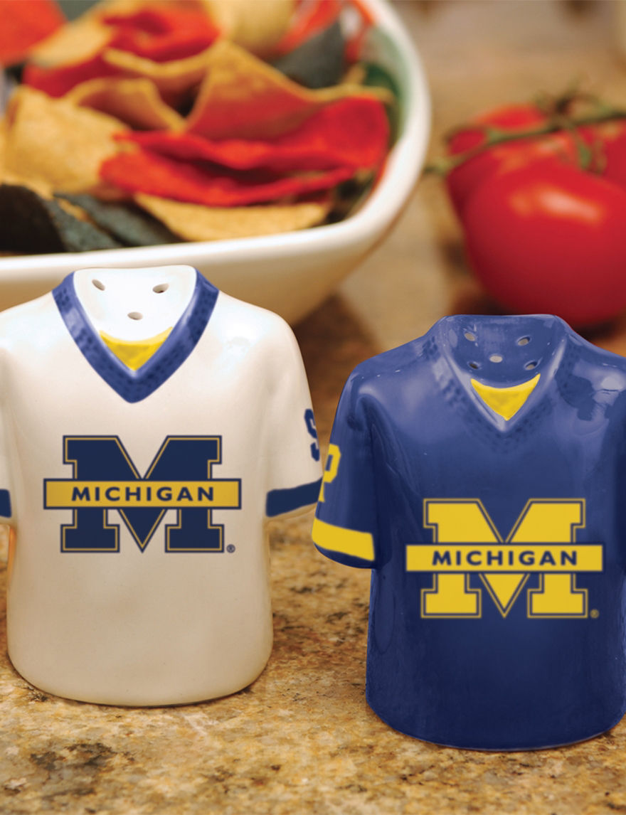 NCAA Blue Salt & Pepper Shakers Serveware