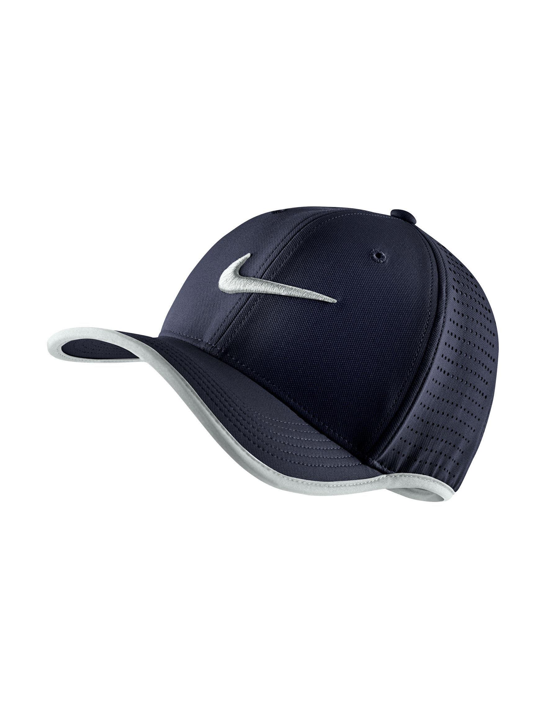 Nike Blue Hats & Headwear