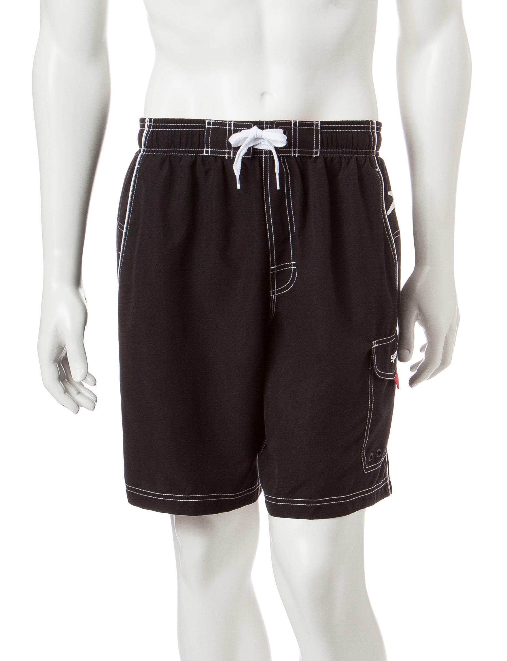 Speedo Black Swimsuit Bottoms
