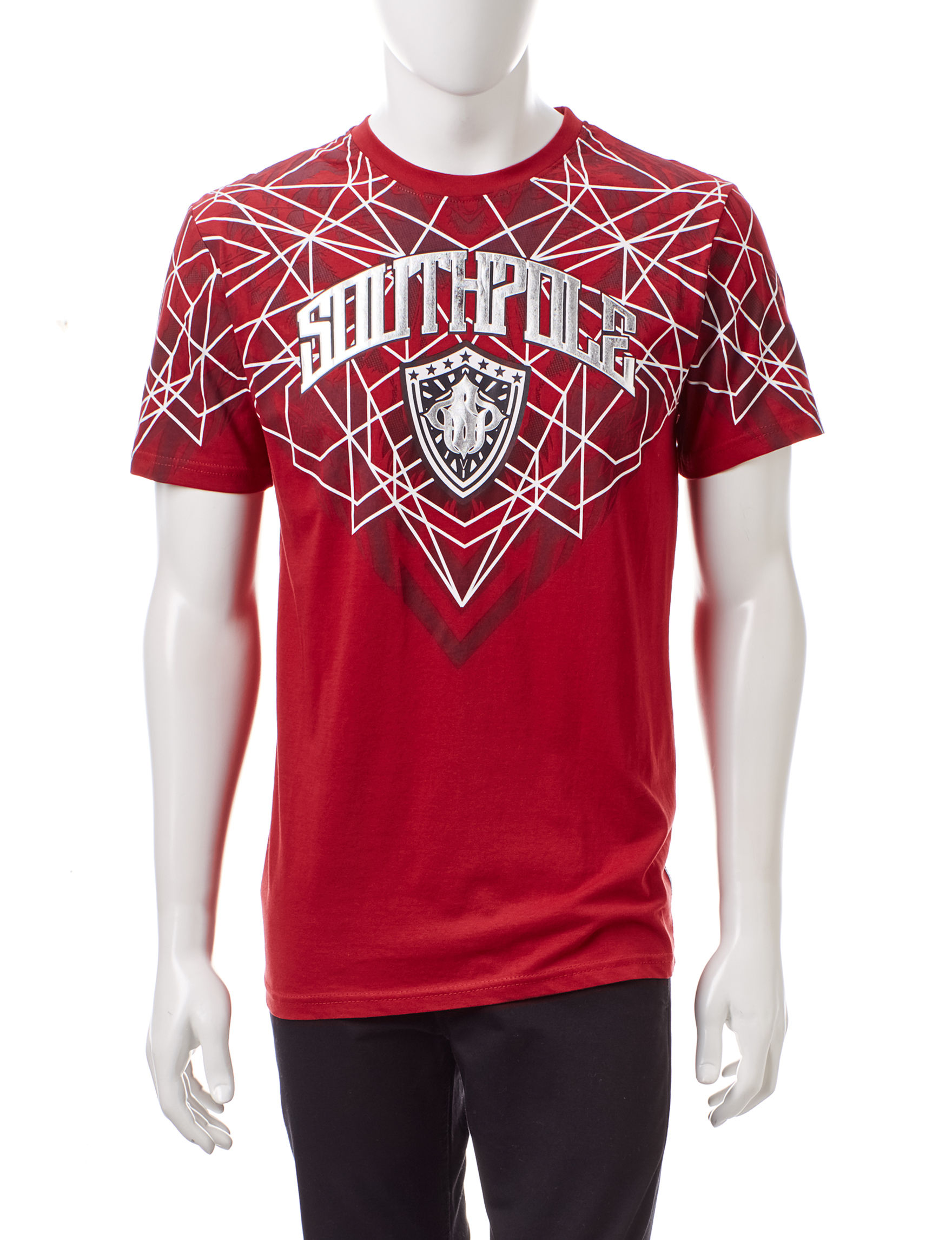 Southpole Red Tees & Tanks