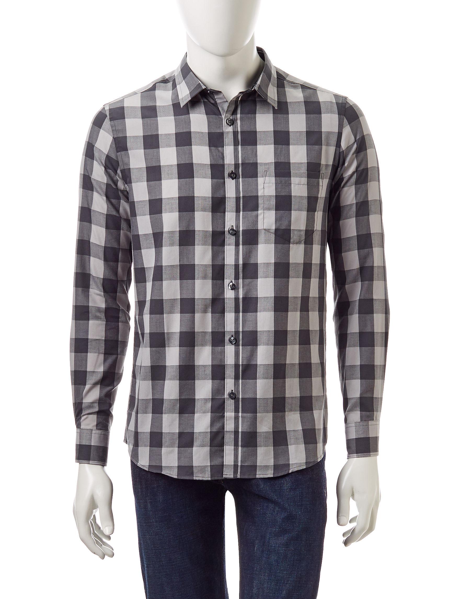 Axist High Rise Casual Button Down Shirts