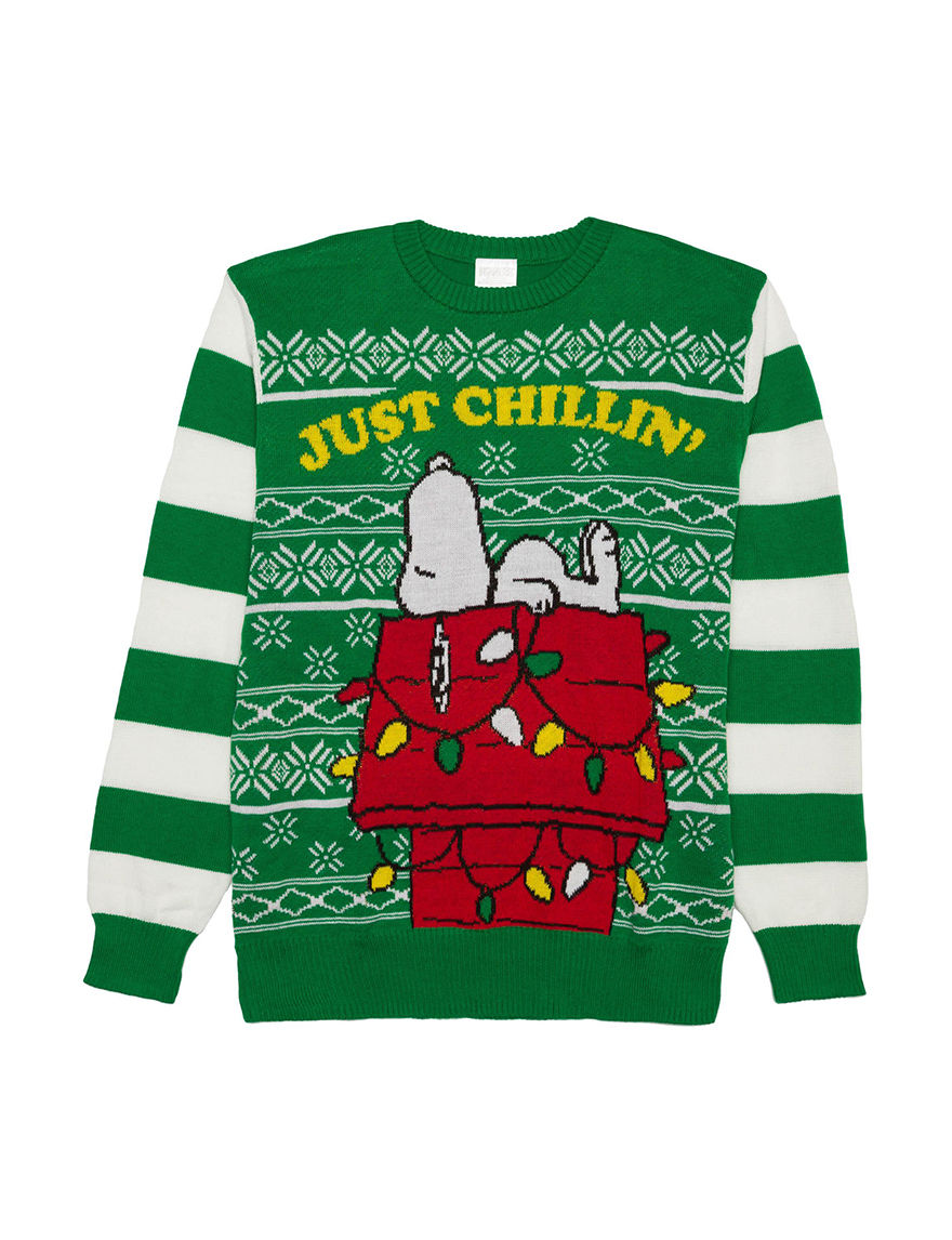 Snoopy Just Chillin Christmas Sweater | Stage Stores