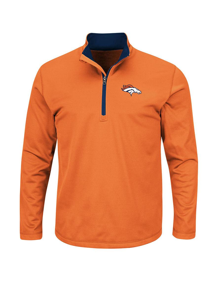 NFL Orange Sweaters Tees & Tanks NFL