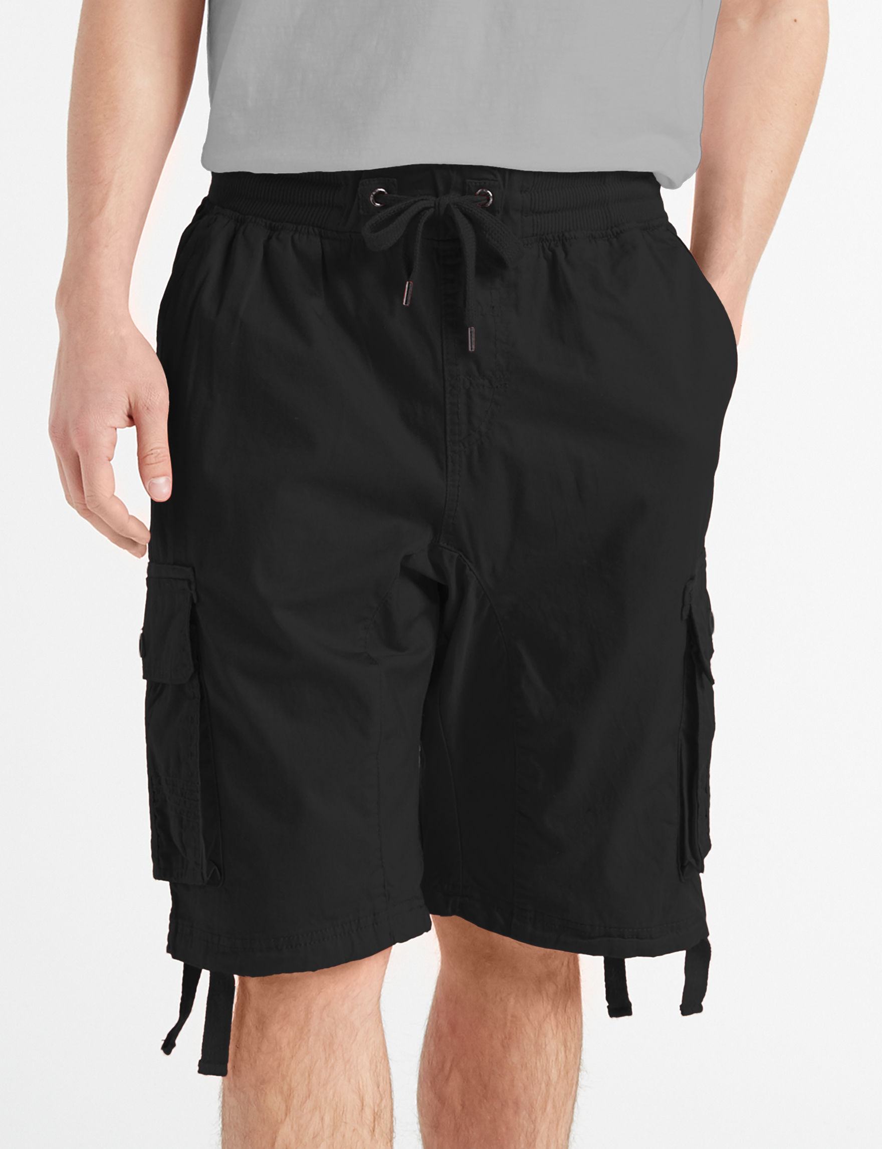 8c7fd0ae0f Southpole Men's Twill Jogger Cargo Shorts | Stage Stores