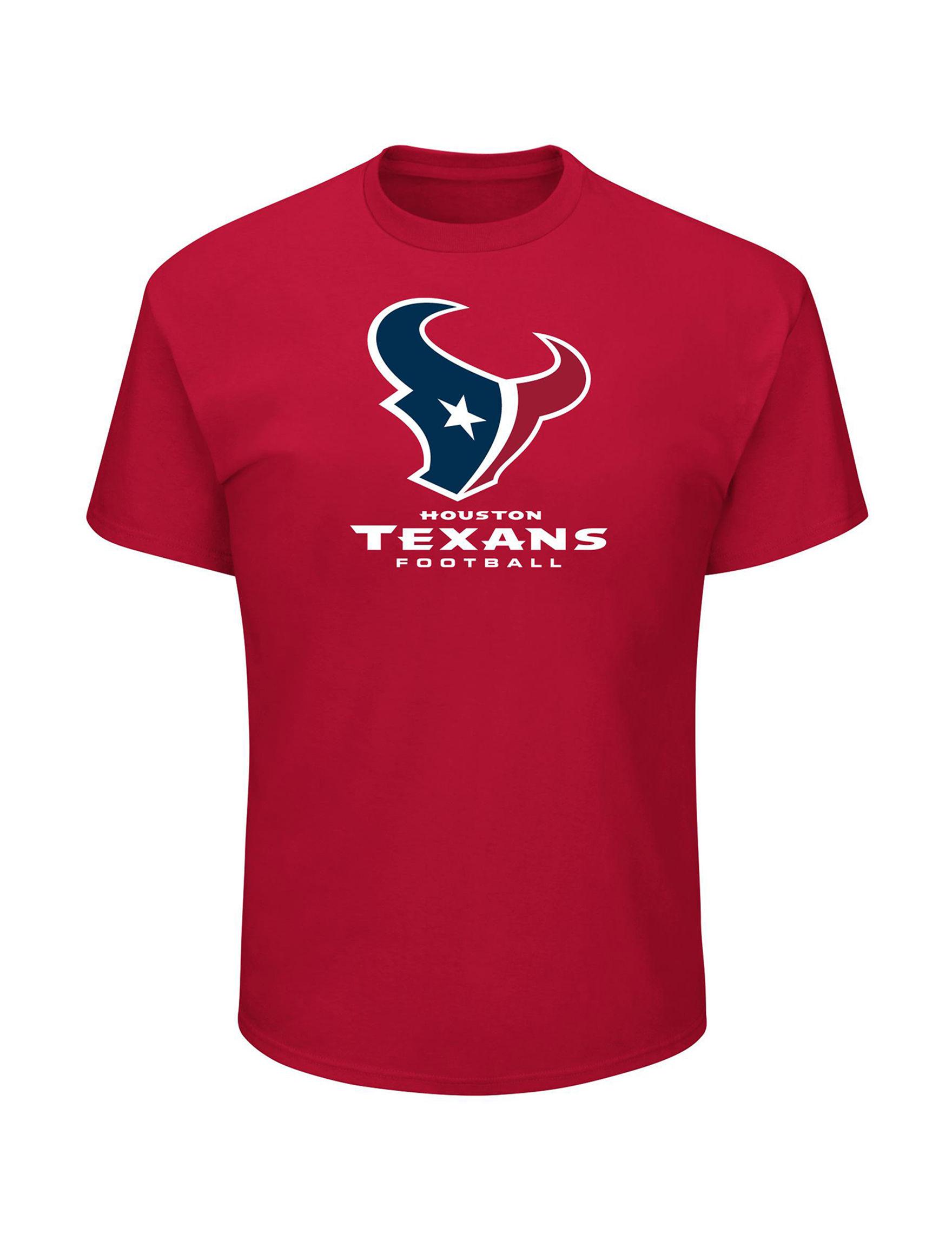NFL Red Tees & Tanks