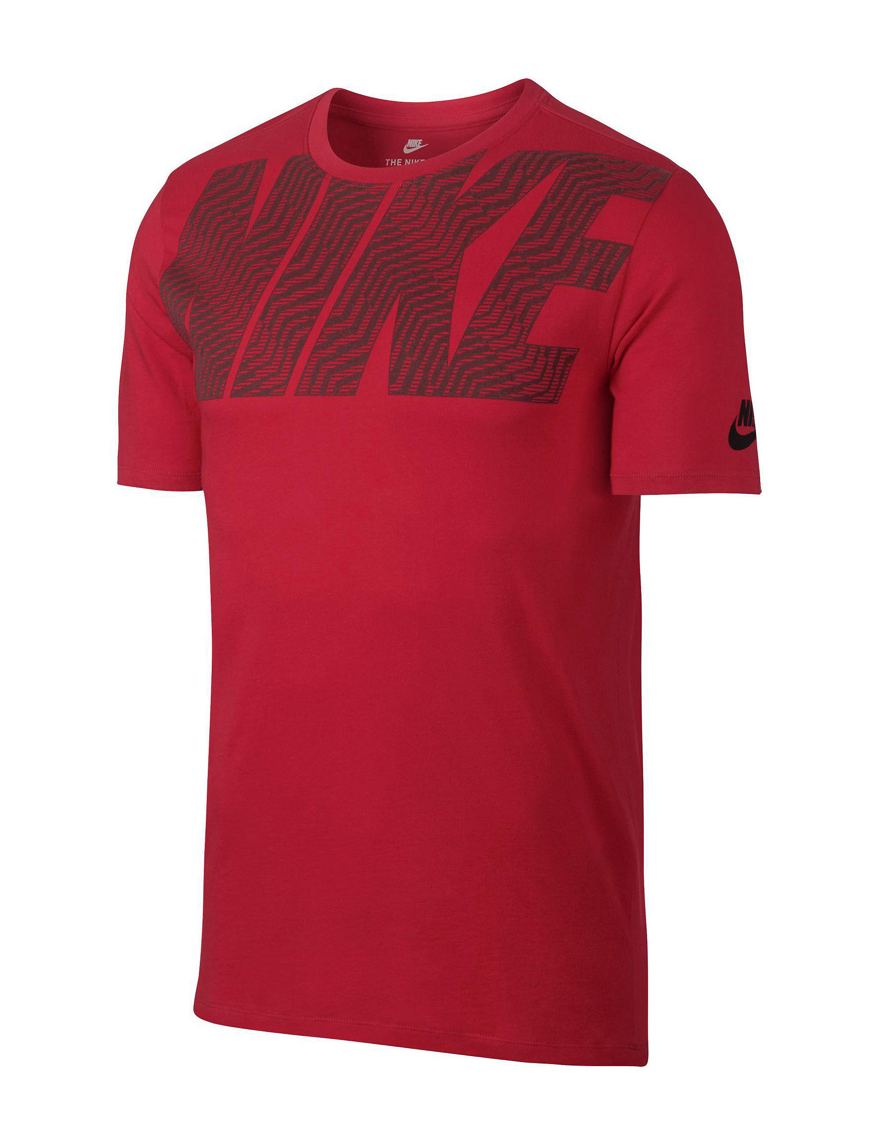 Nike Red / Black Tees & Tanks