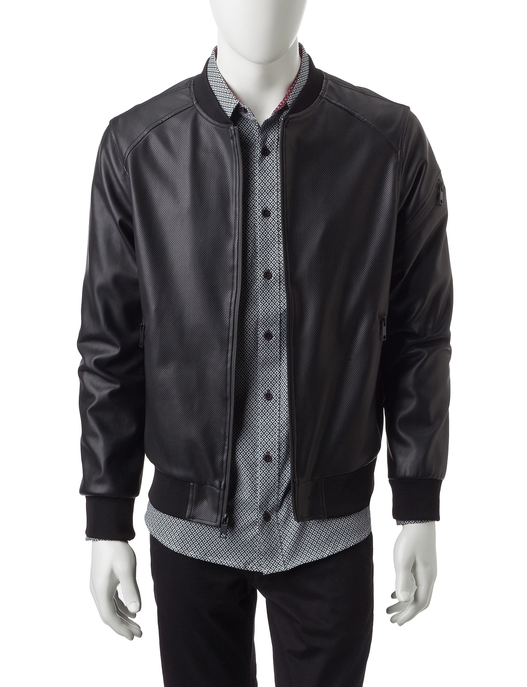 Signature Studio Black Lightweight Jackets & Blazers