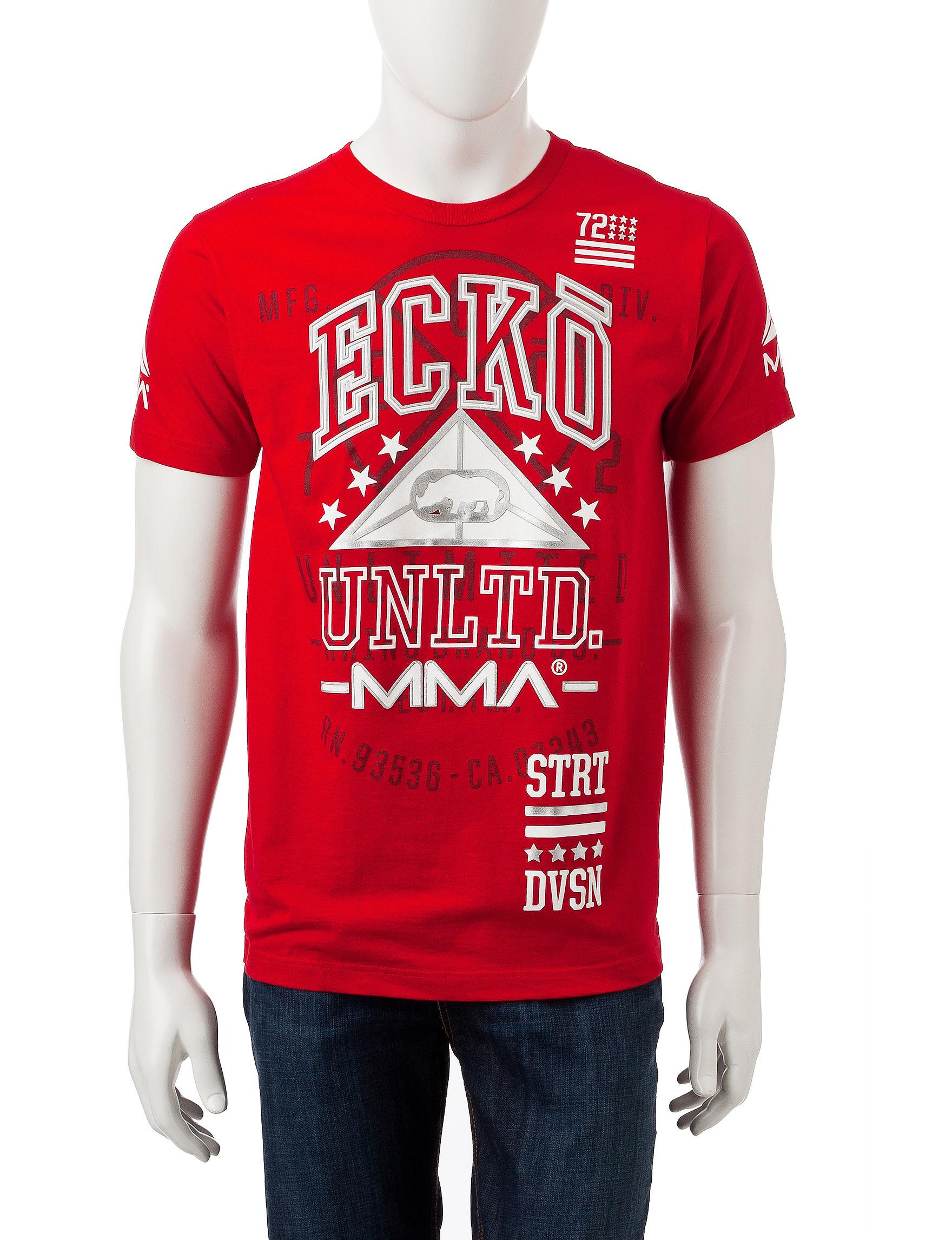 Ecko True Red Tees & Tanks