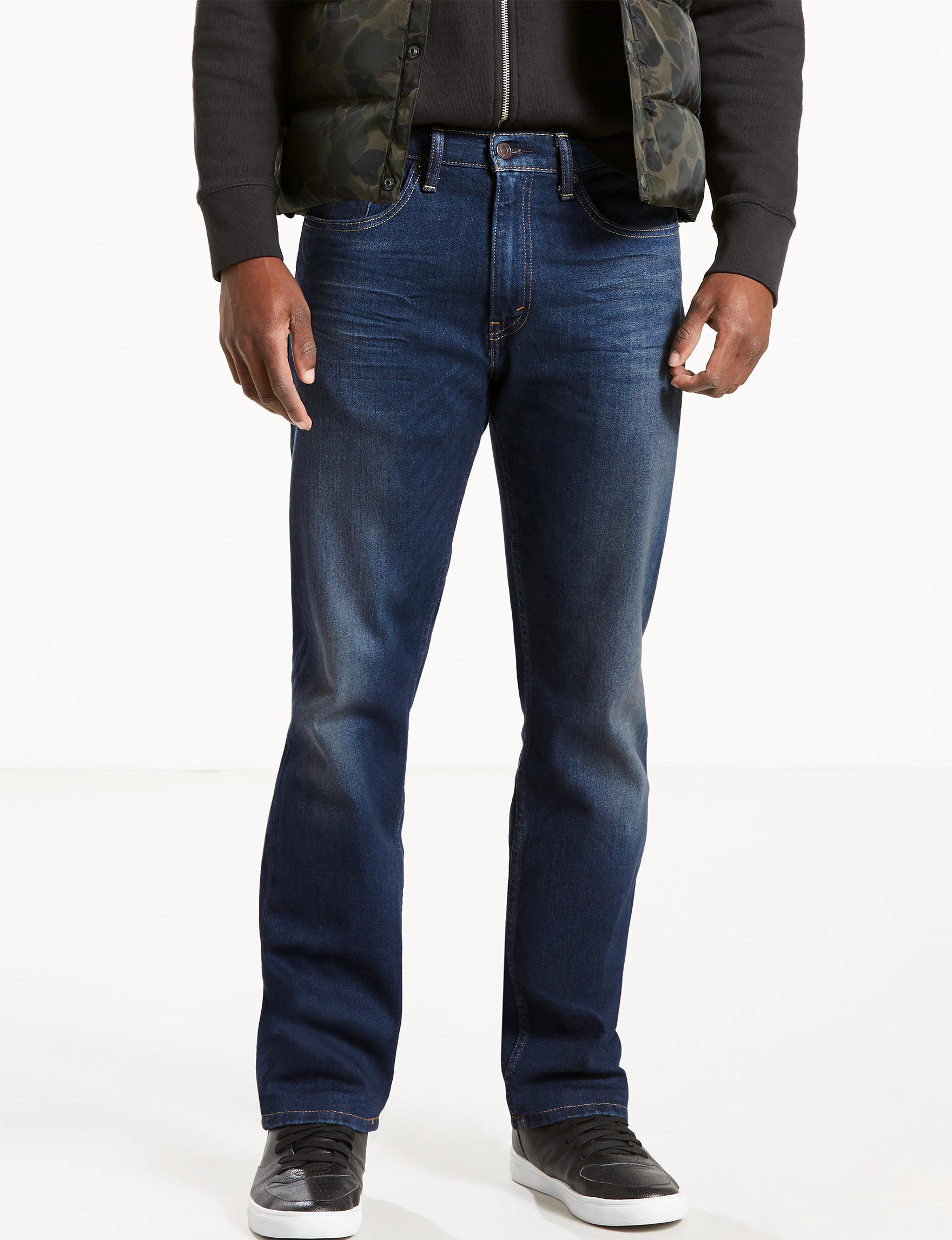 Levi's Dark Blue Regular Straight