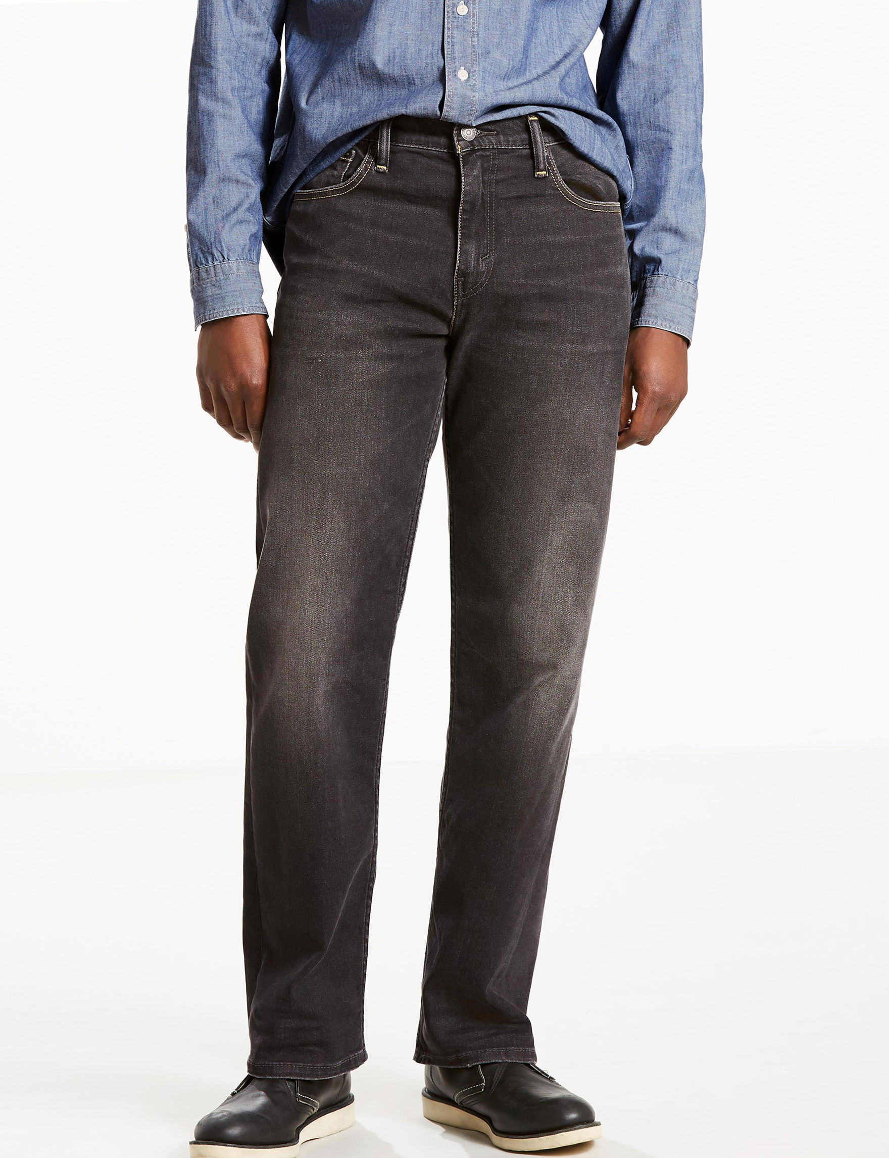 Levi's Black Loose Relaxed Relaxed Straight