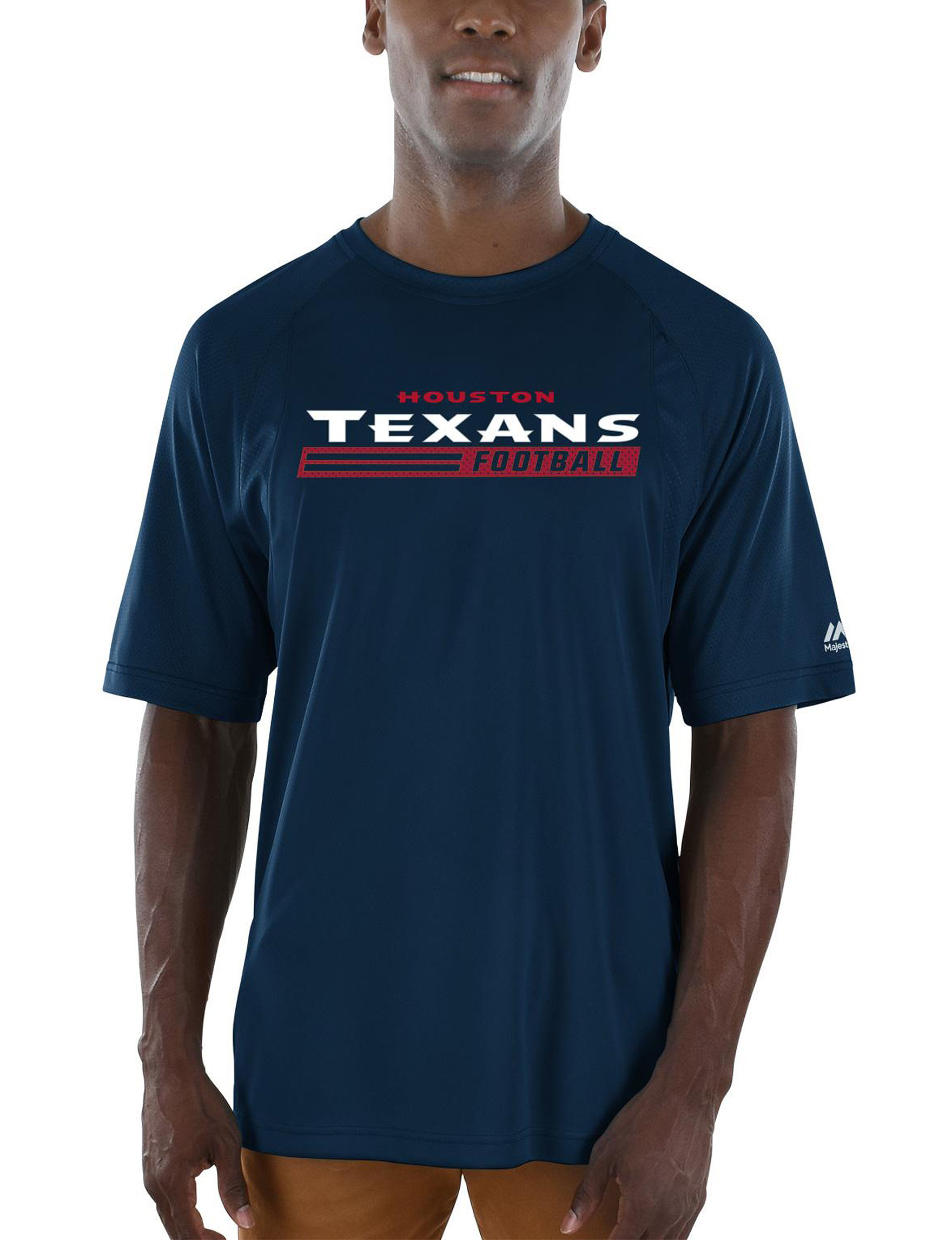 NFL Navy Tees & Tanks