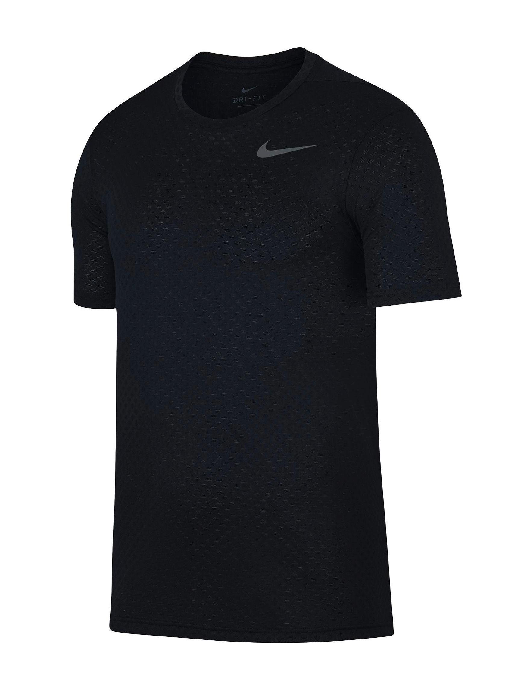 Nike Black / Grey Tees & Tanks
