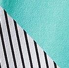 White / Turquoise