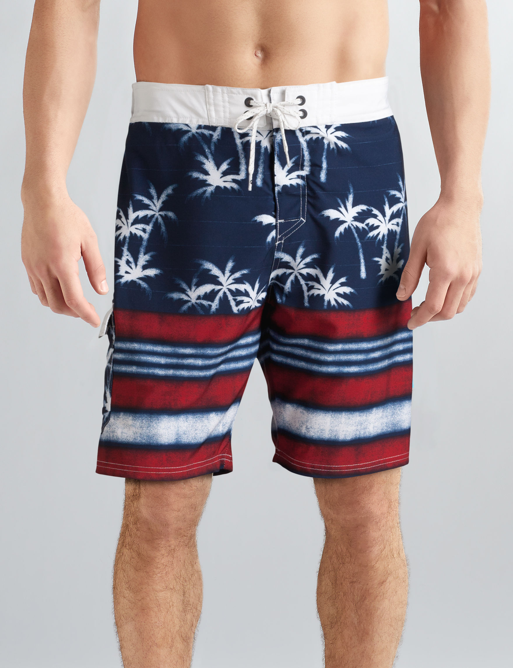 Ocean Current Navy Multi Swimsuit Bottoms