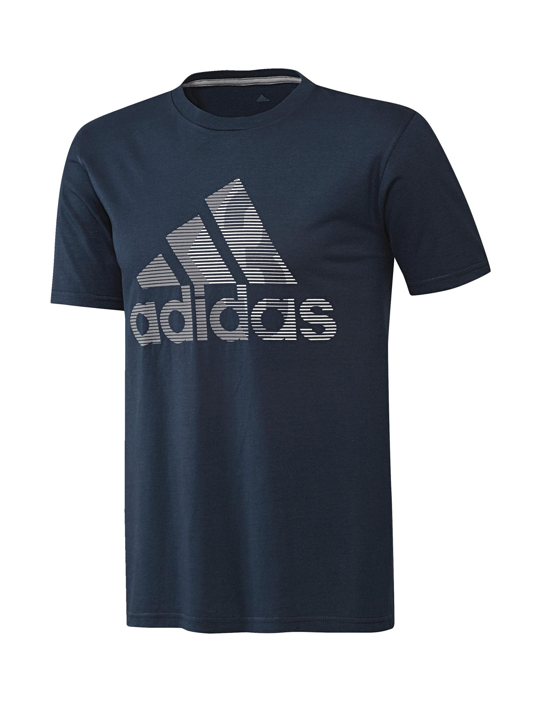 Adidas Navy Tees & Tanks