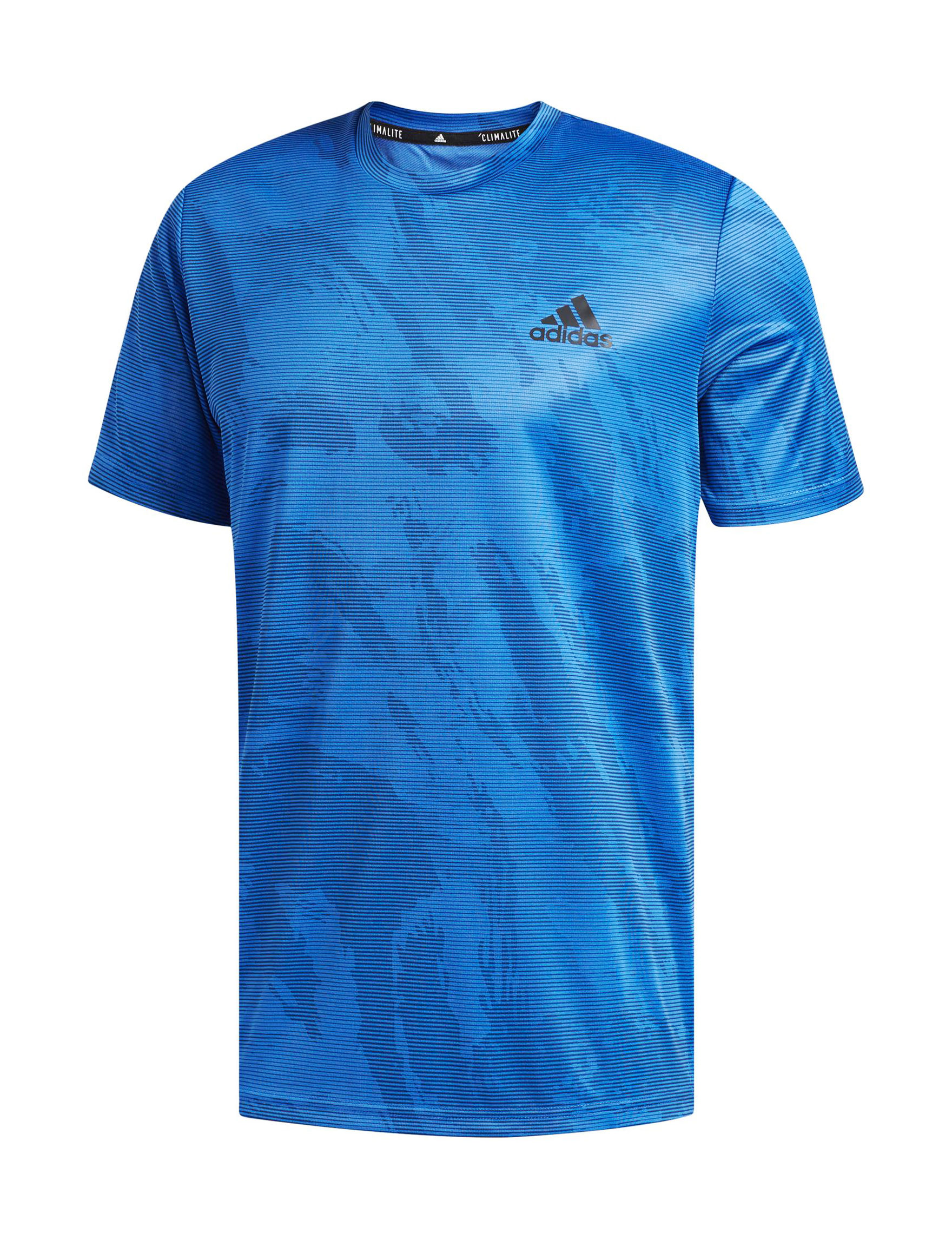Adidas Blue Tees & Tanks