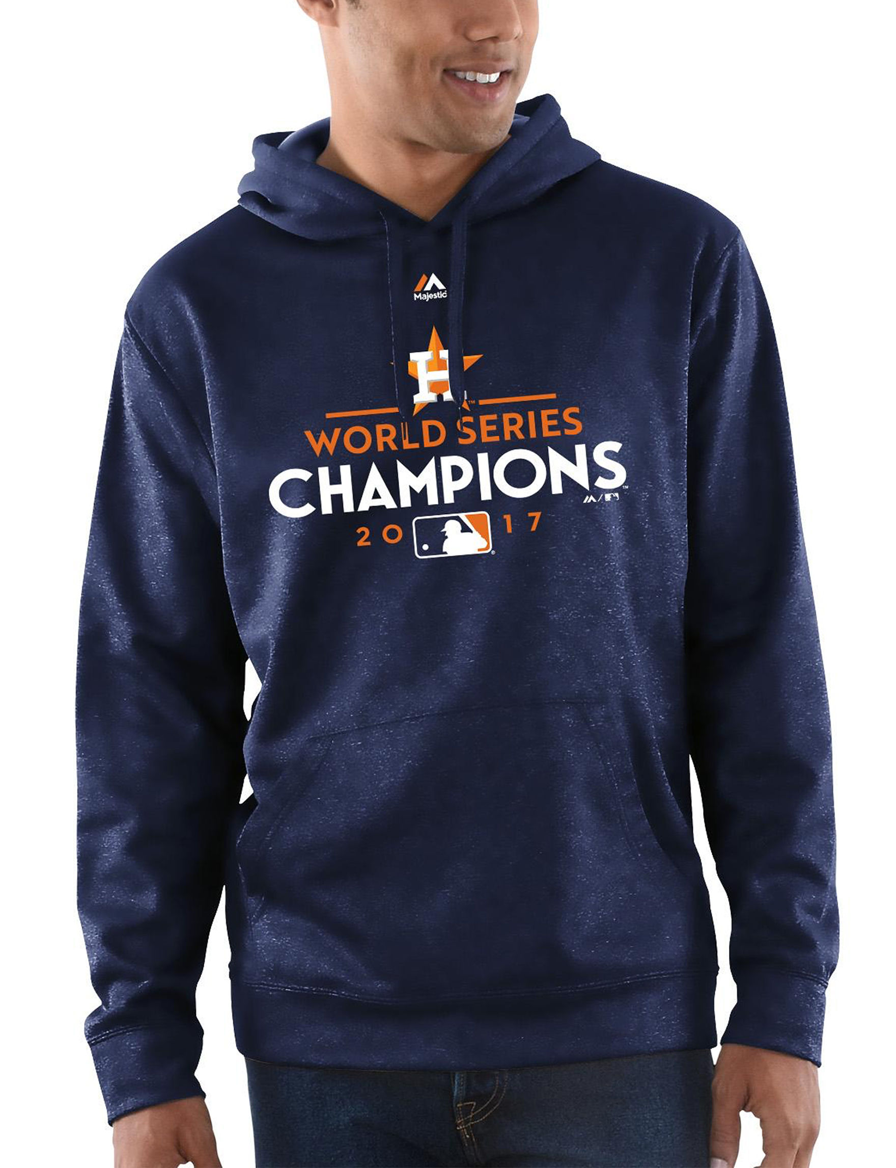 MLB Navy Pull-overs
