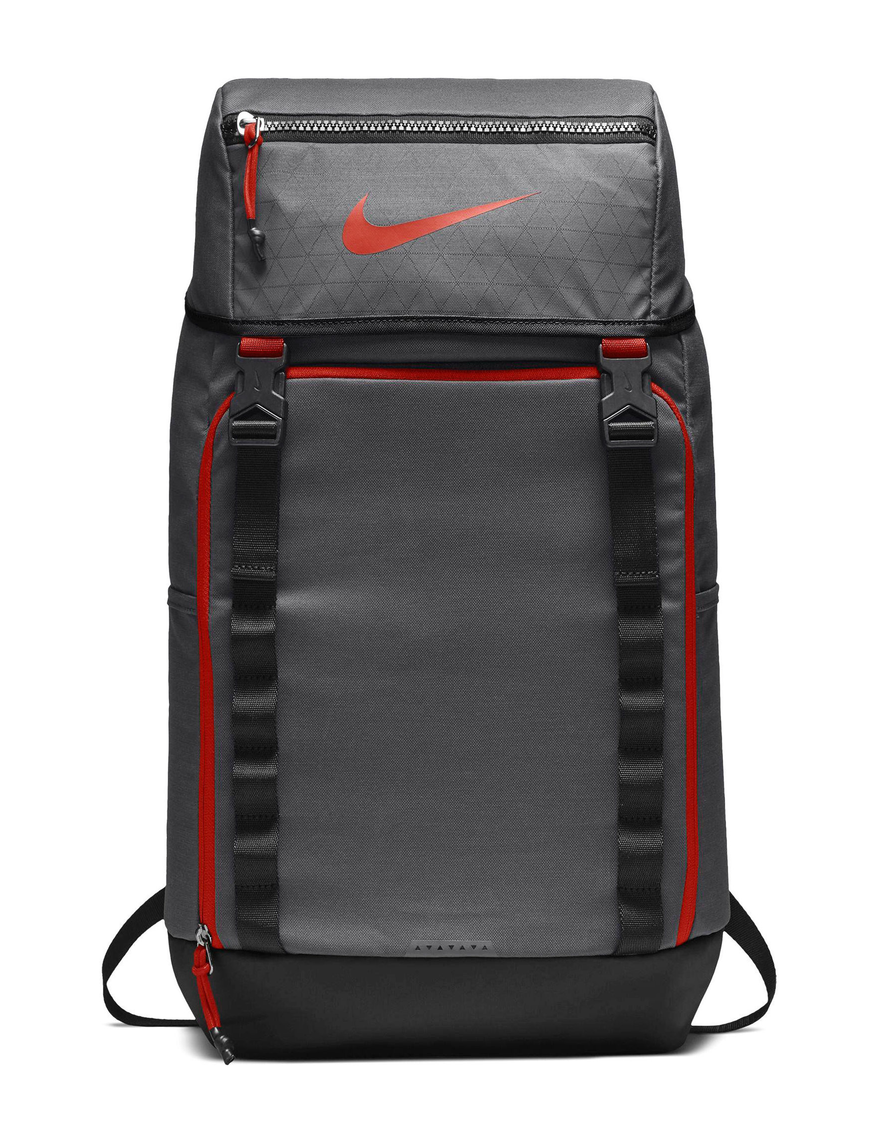 Nike Grey / Red Bookbags & Backpacks