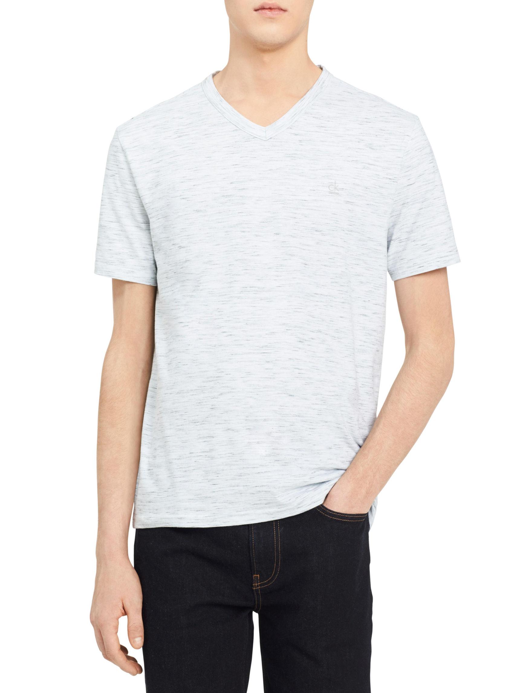 Calvin Klein White Polos