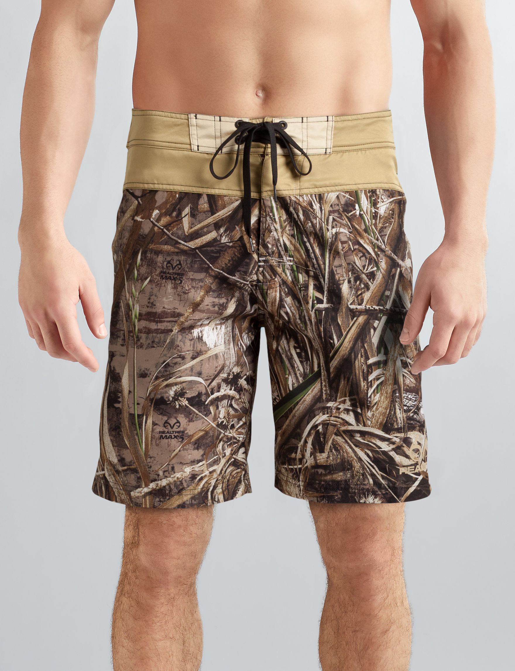 Realtree Brown Camo Swimsuit Bottoms