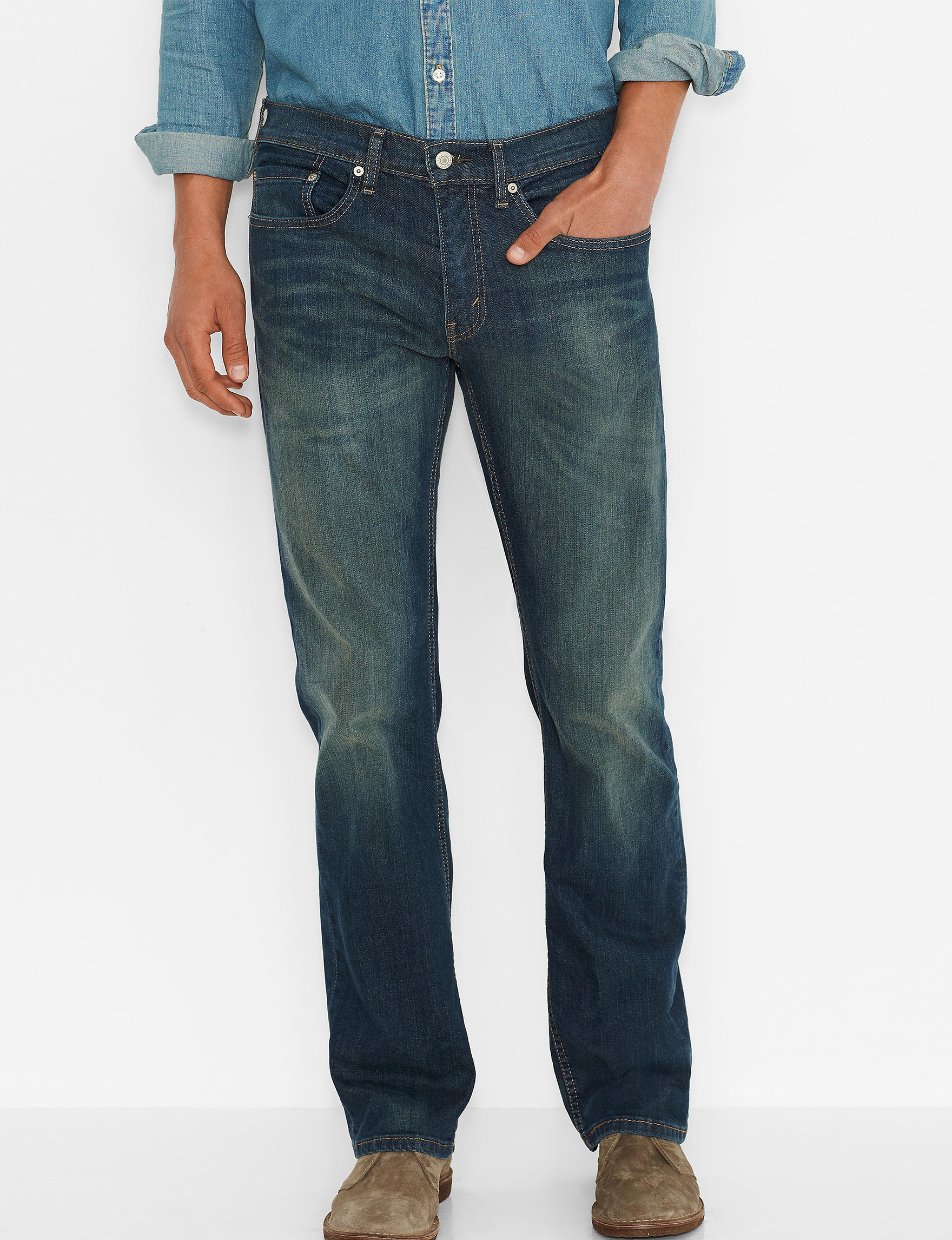 Levi's Light Wash Relaxed Straight