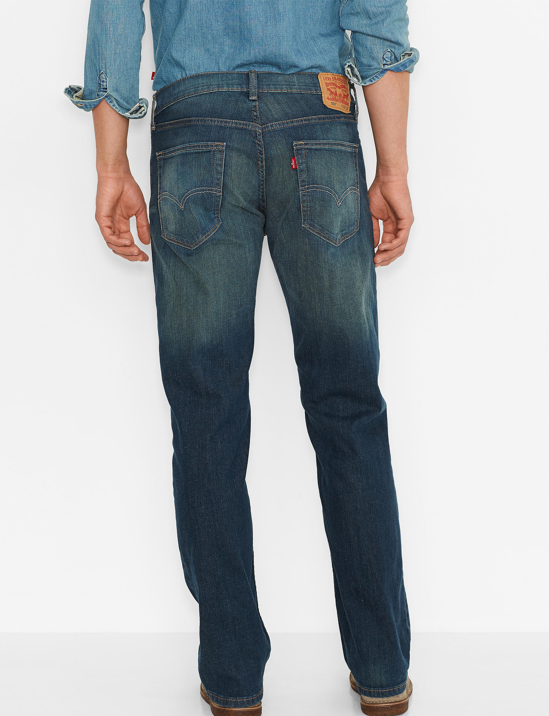 e56dd5763d3ee2 Levi's Men's 559 Relaxed Straight Fit Jeans | Stage Stores