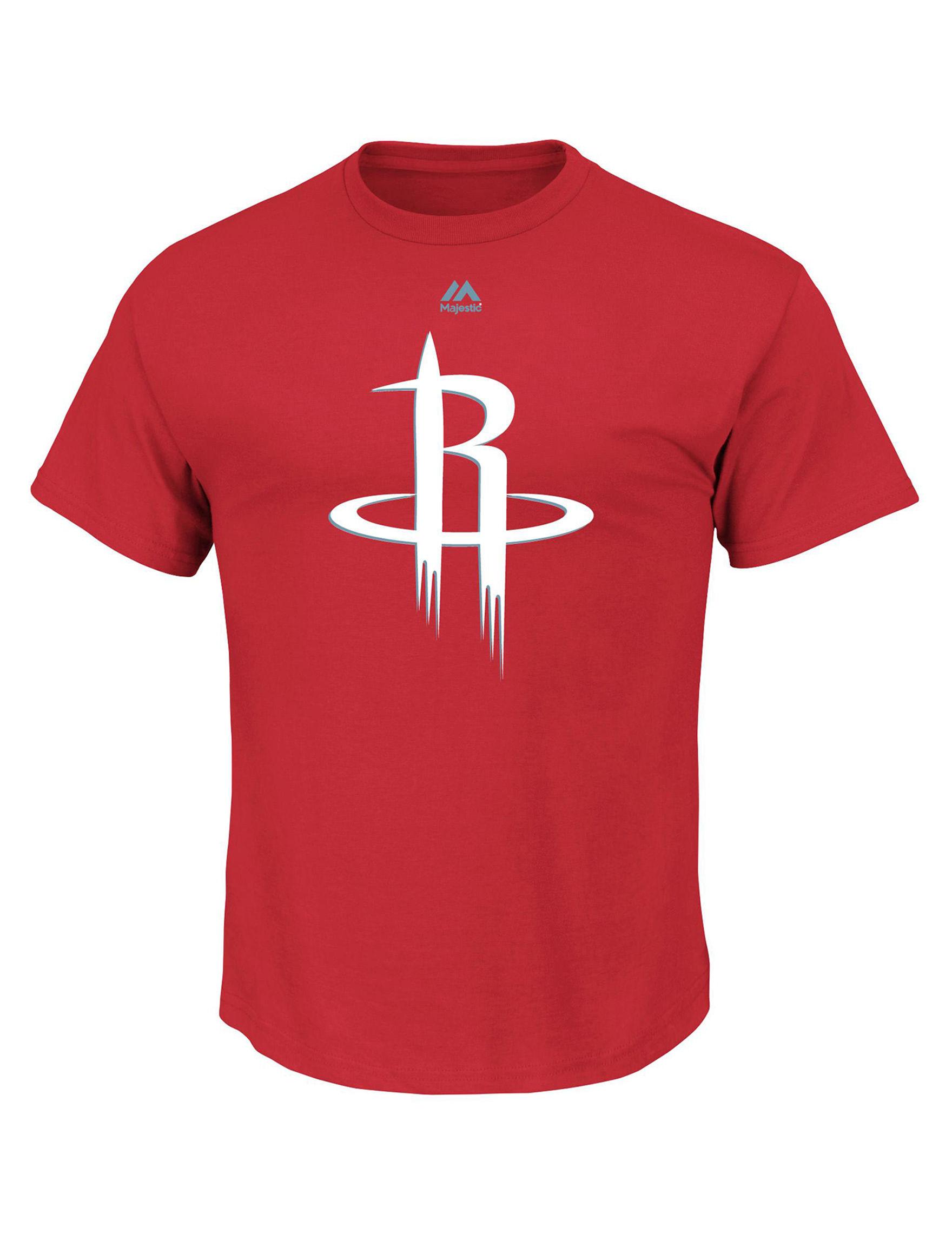 NBA Red Tees & Tanks