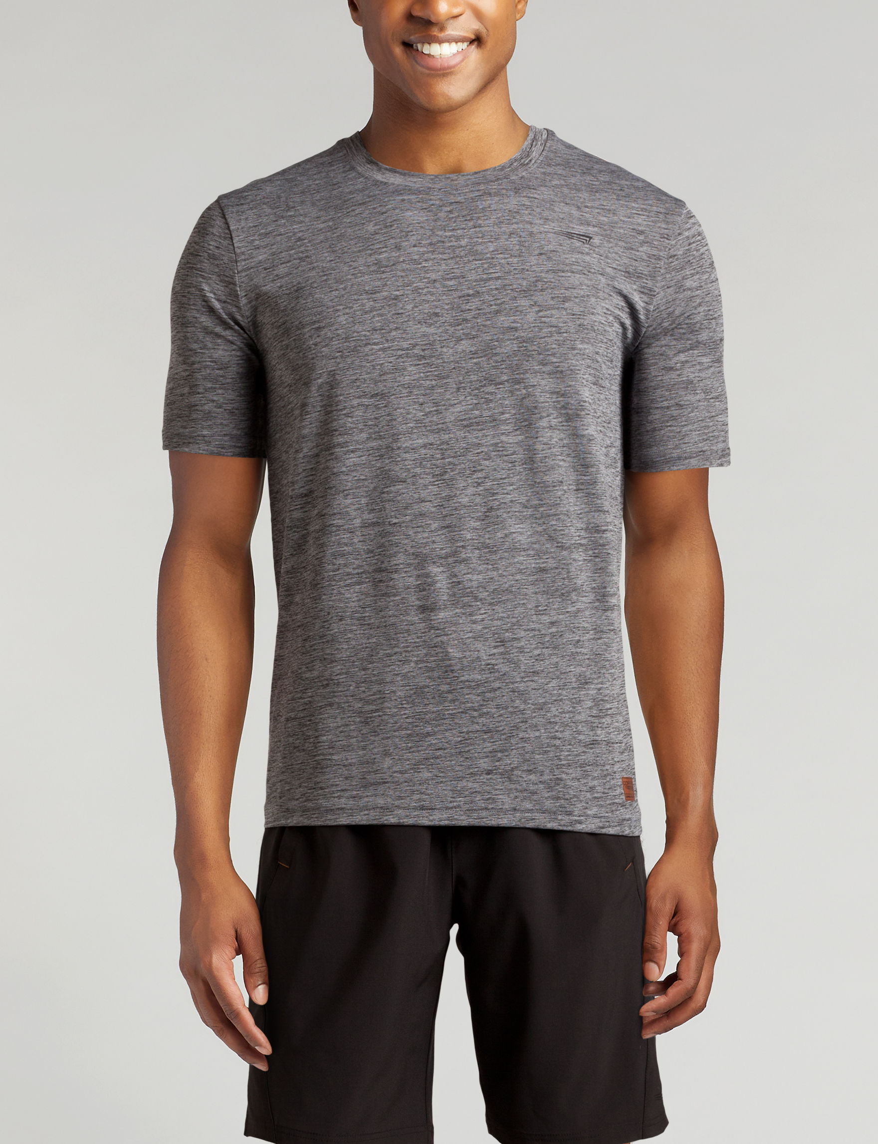 Copper Fit Heather Grey Tees & Tanks