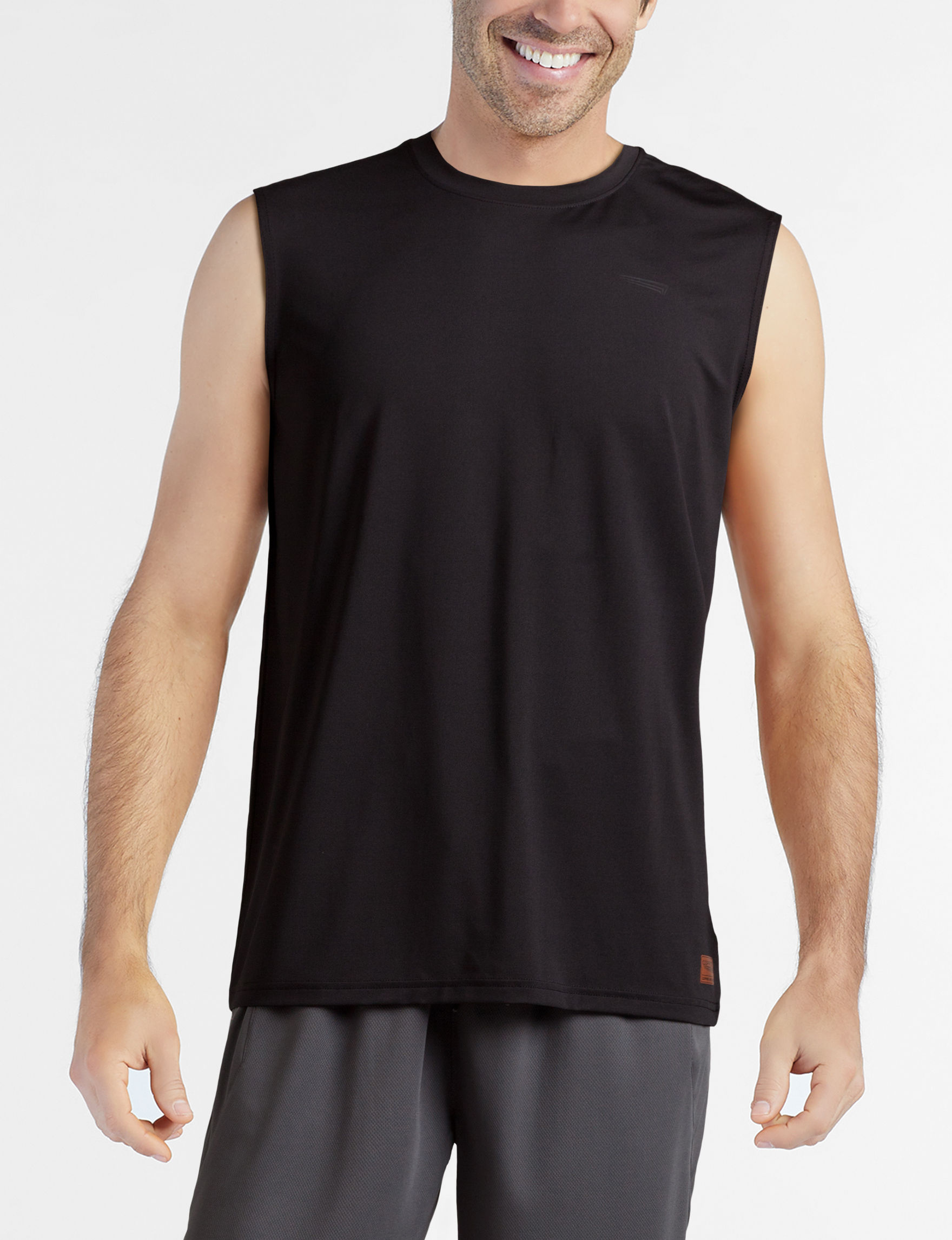 Copper Fit Black Tees & Tanks