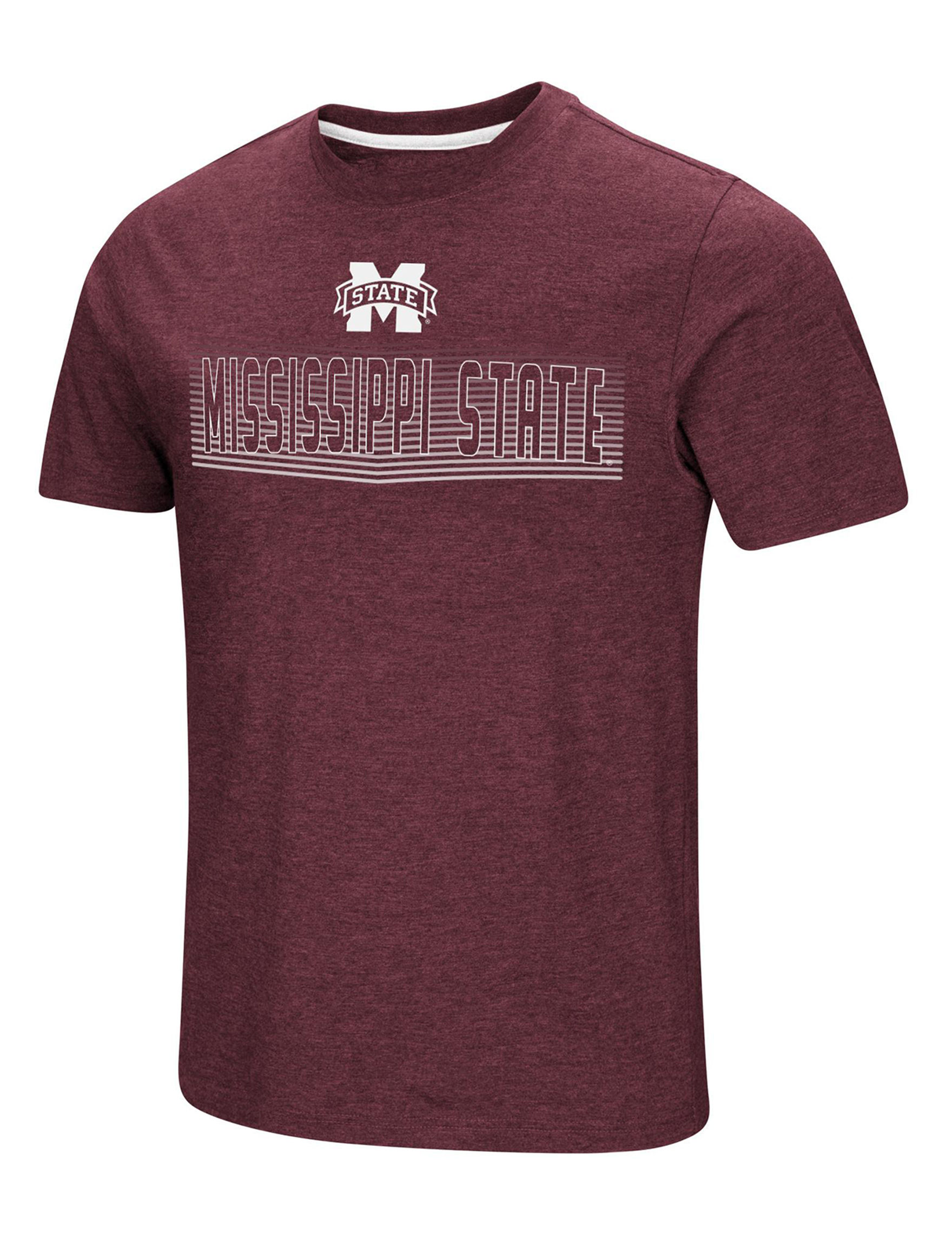 NCAA Burgundy Tees & Tanks