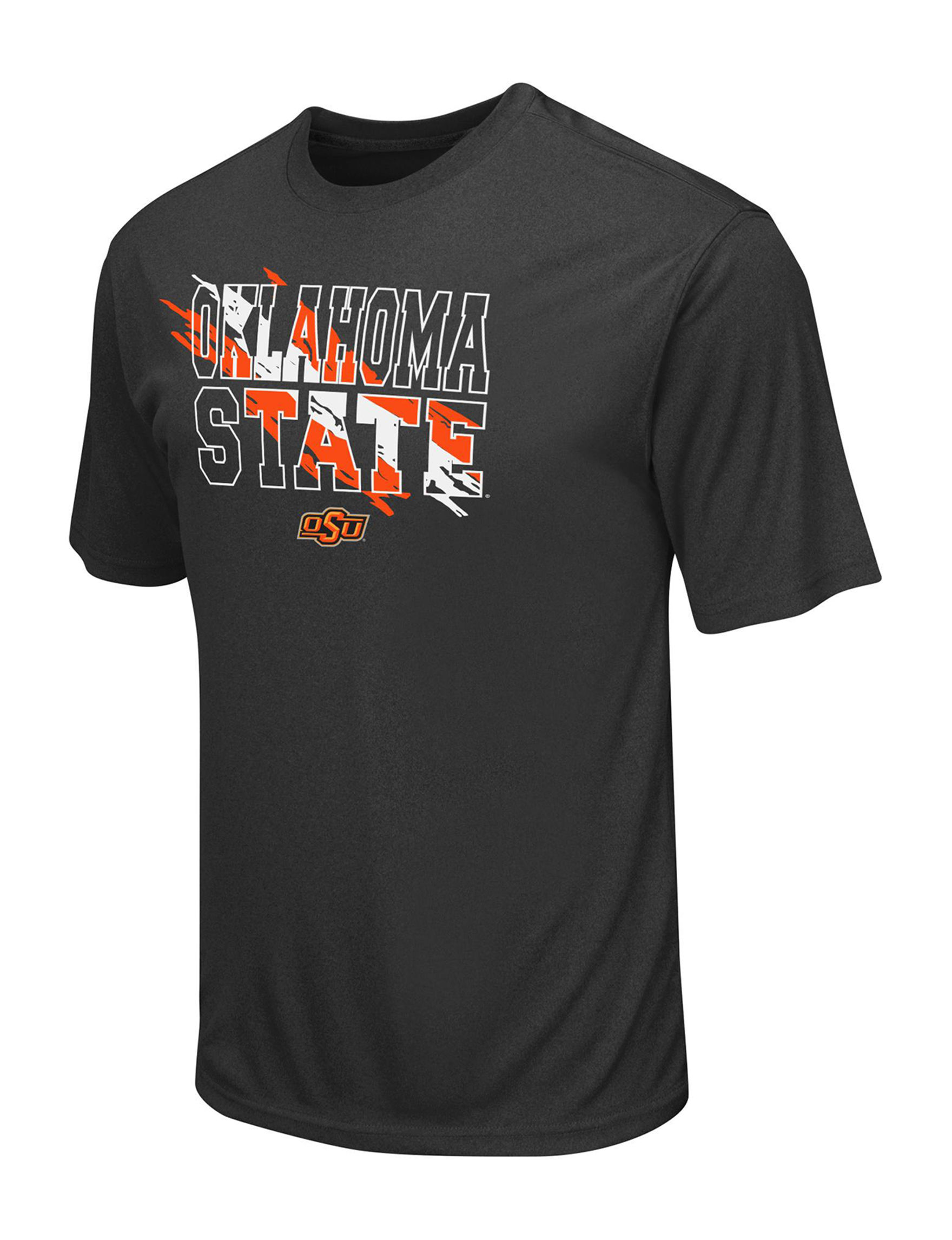 NCAA Dark Grey Tees & Tanks