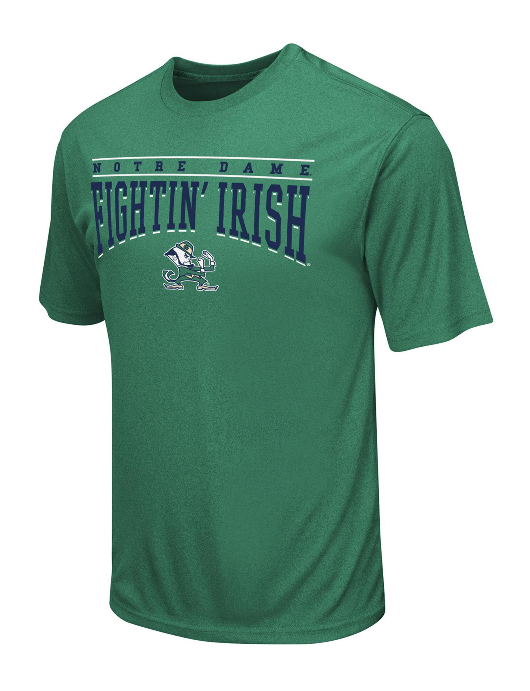 NCAA Dark Green Tees & Tanks