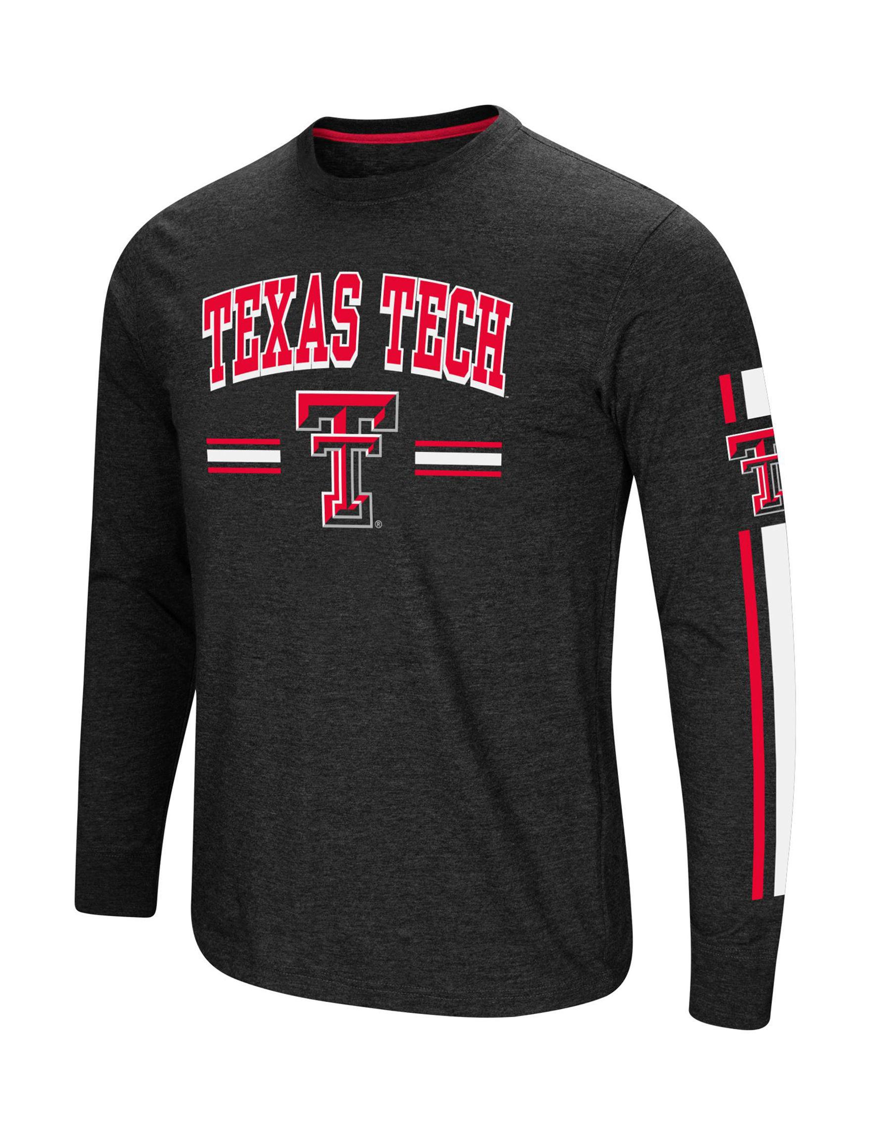 NCAA Black Tees & Tanks