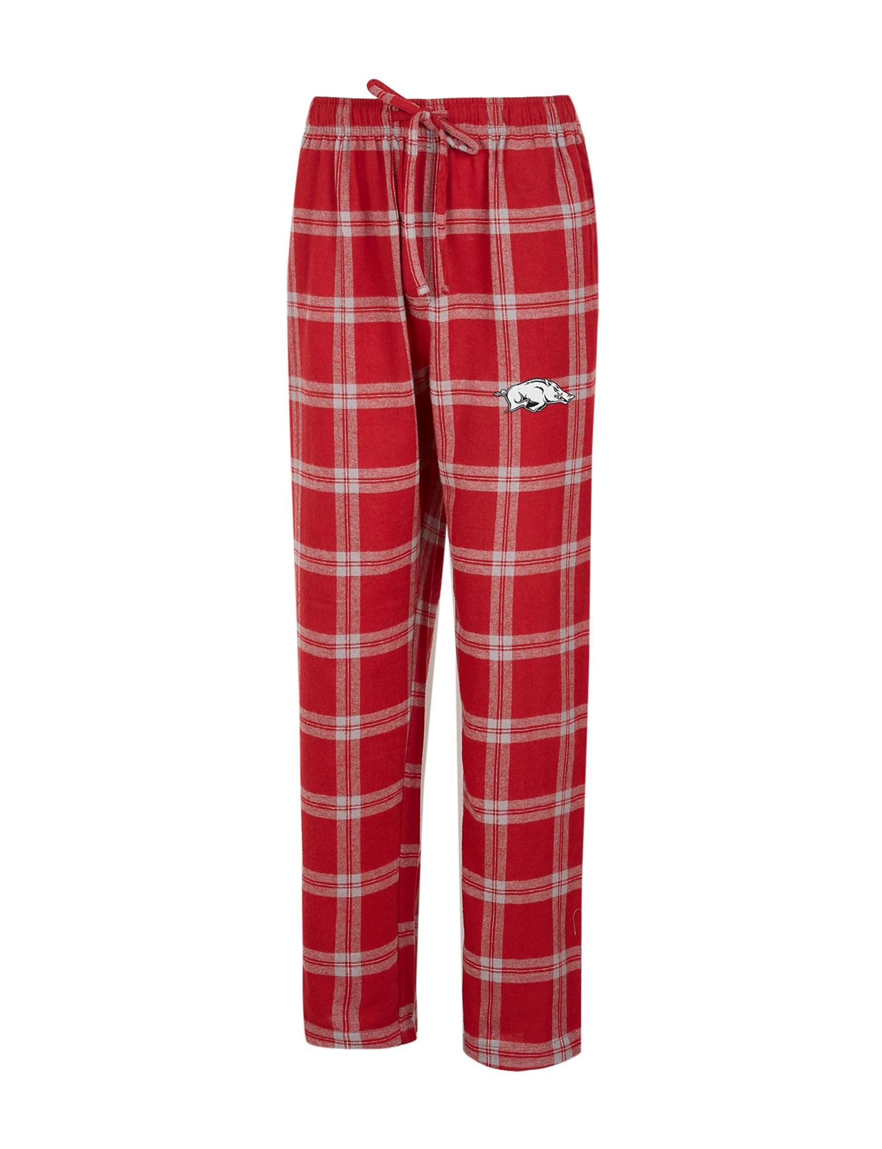 NCAA Red / Grey Pajama Bottoms